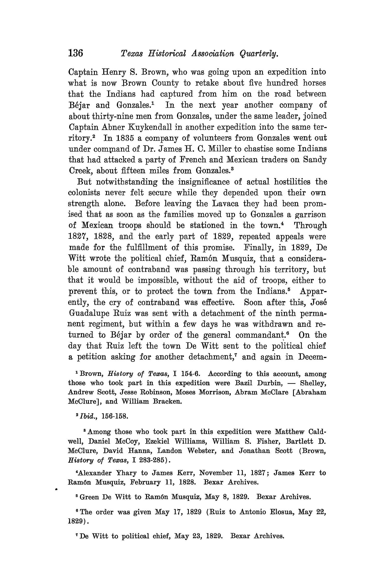 The Quarterly of the Texas State Historical Association, Volume 8, July 1904 - April, 1905                                                                                                      136