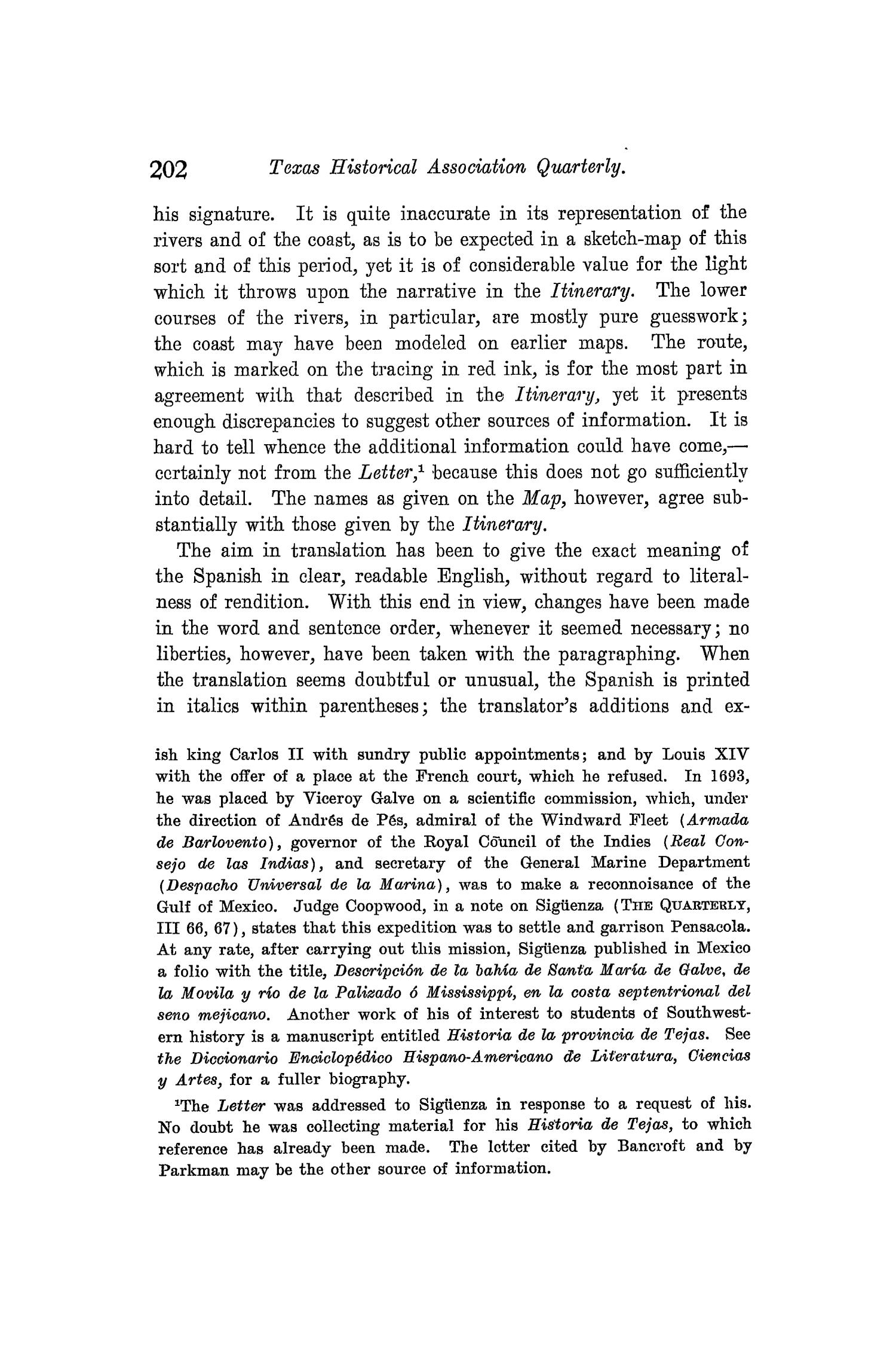 The Quarterly of the Texas State Historical Association, Volume 8, July 1904 - April, 1905                                                                                                      202