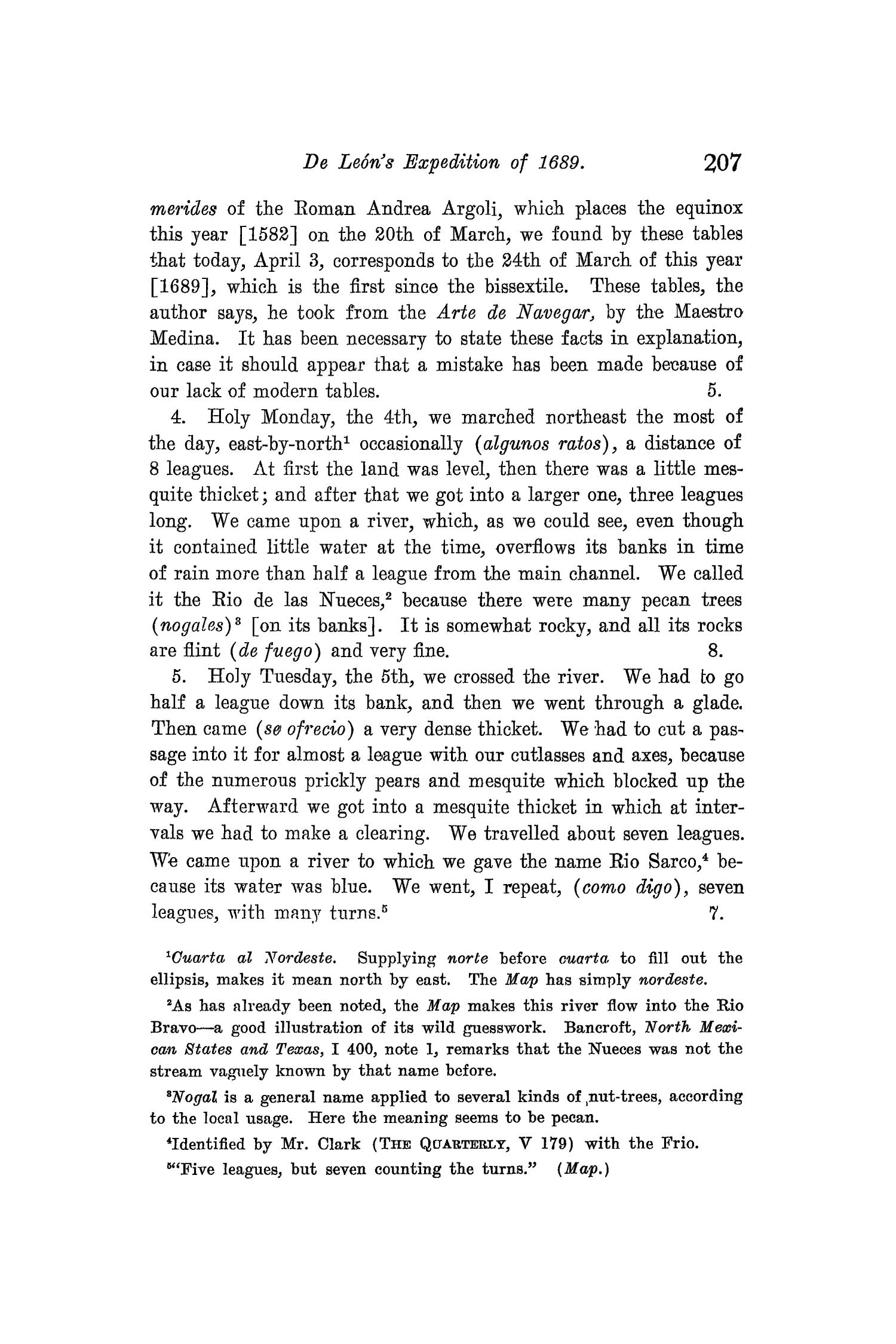 The Quarterly of the Texas State Historical Association, Volume 8, July 1904 - April, 1905                                                                                                      207