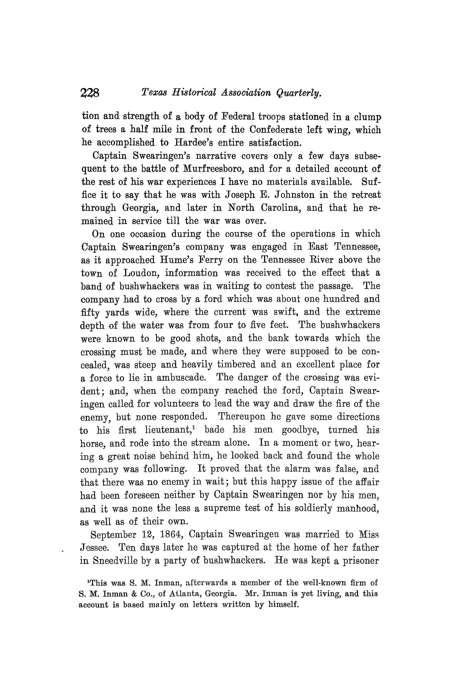 The Quarterly of the Texas State Historical Association, Volume 8, July 1904 - April, 1905                                                                                                      228