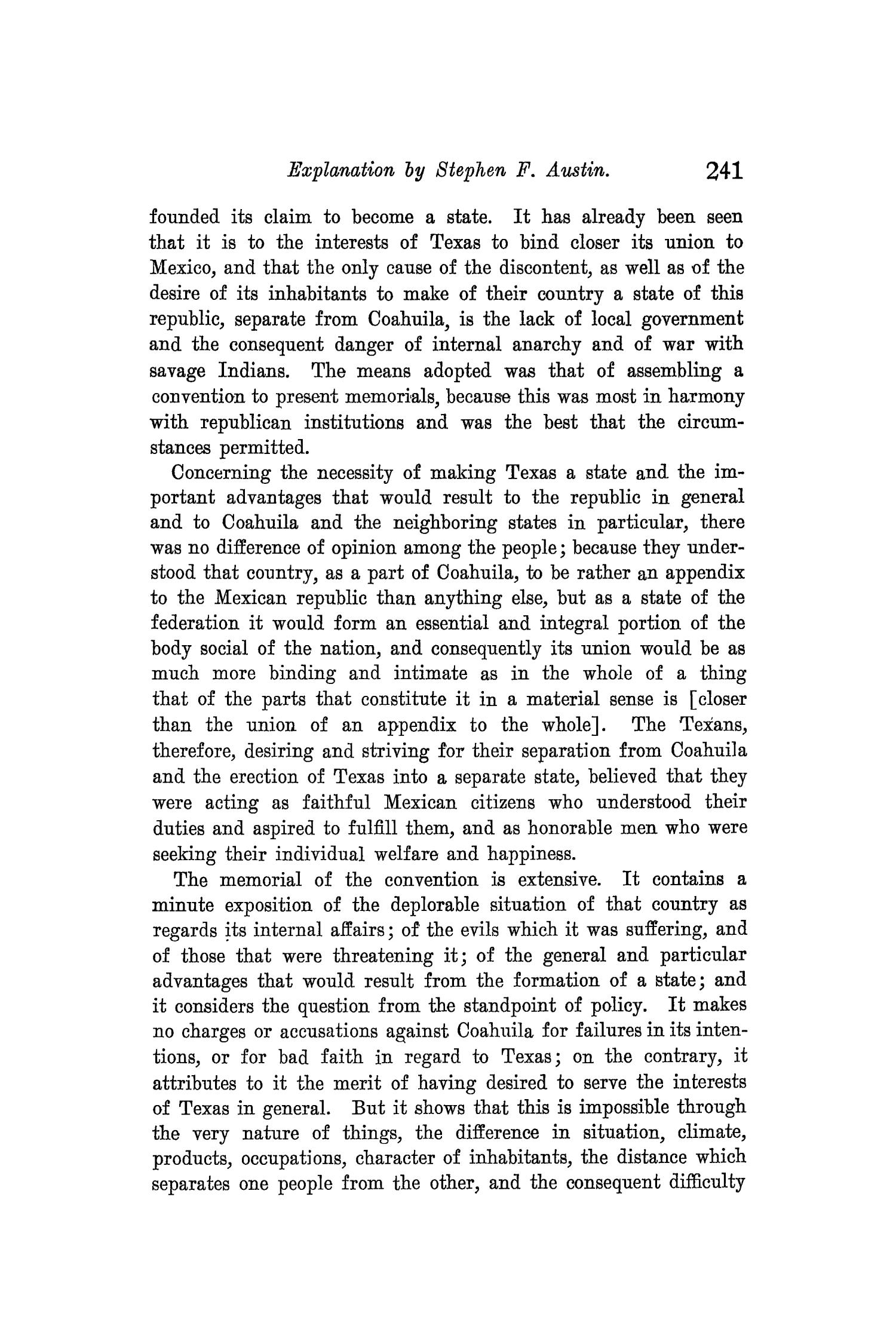 The Quarterly of the Texas State Historical Association, Volume 8, July 1904 - April, 1905                                                                                                      241