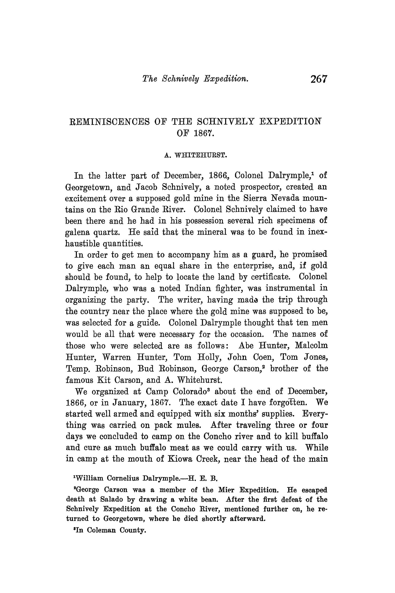 The Quarterly of the Texas State Historical Association, Volume 8, July 1904 - April, 1905                                                                                                      267