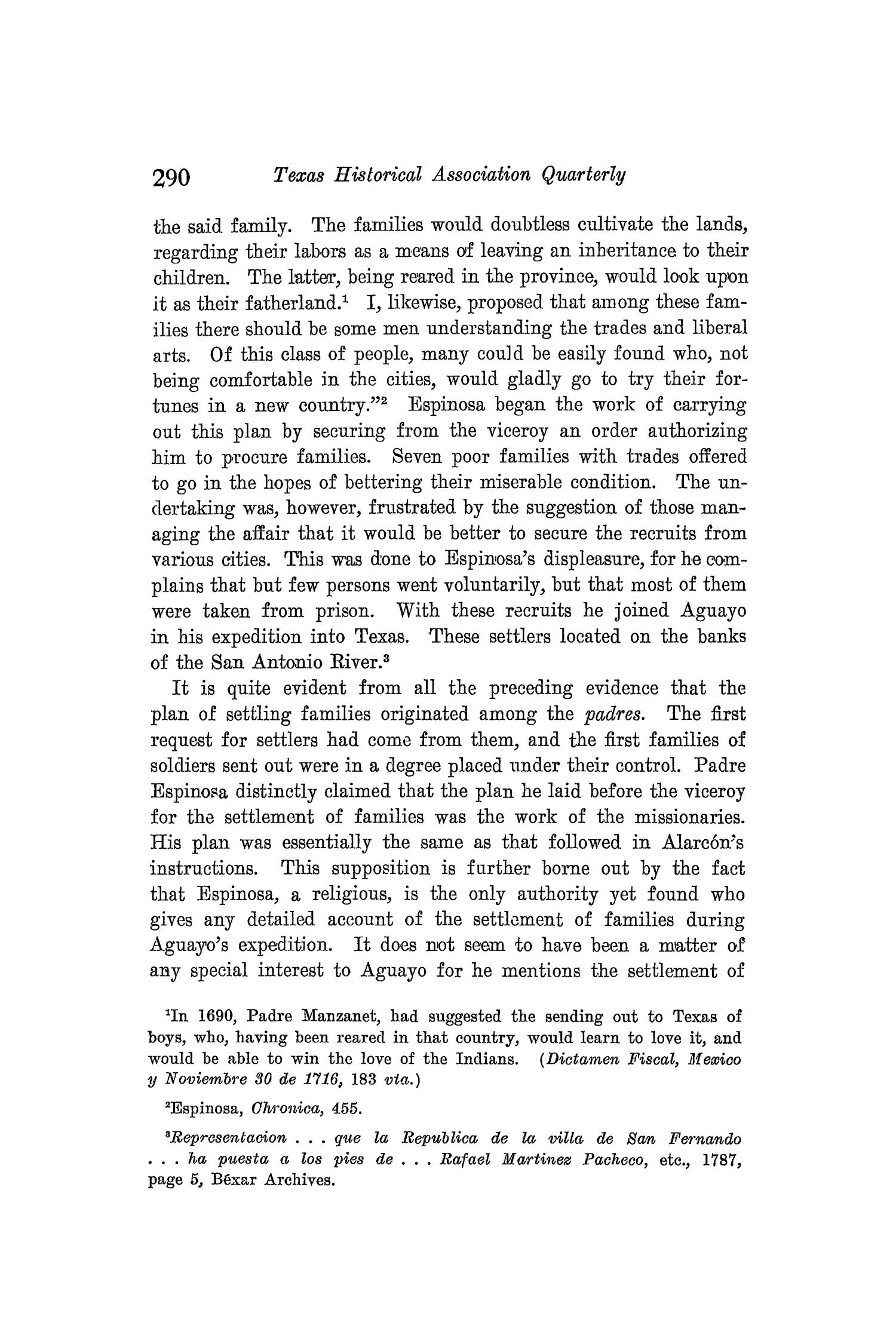 The Quarterly of the Texas State Historical Association, Volume 8, July 1904 - April, 1905                                                                                                      290