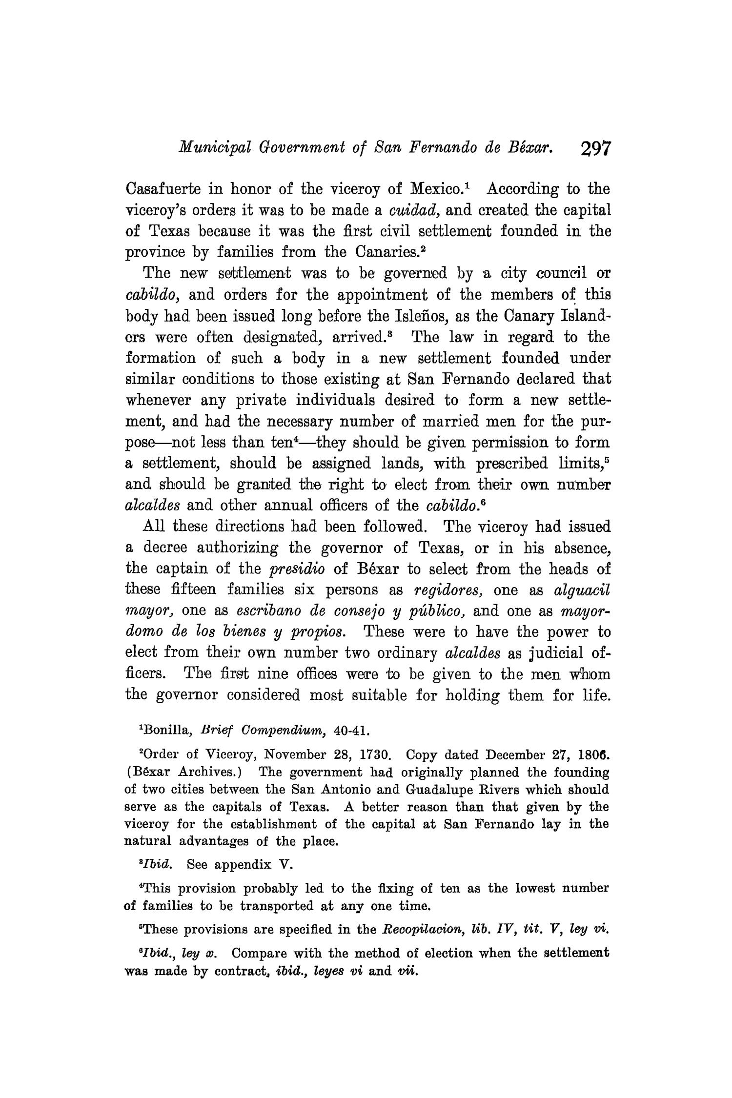 The Quarterly of the Texas State Historical Association, Volume 8, July 1904 - April, 1905                                                                                                      297