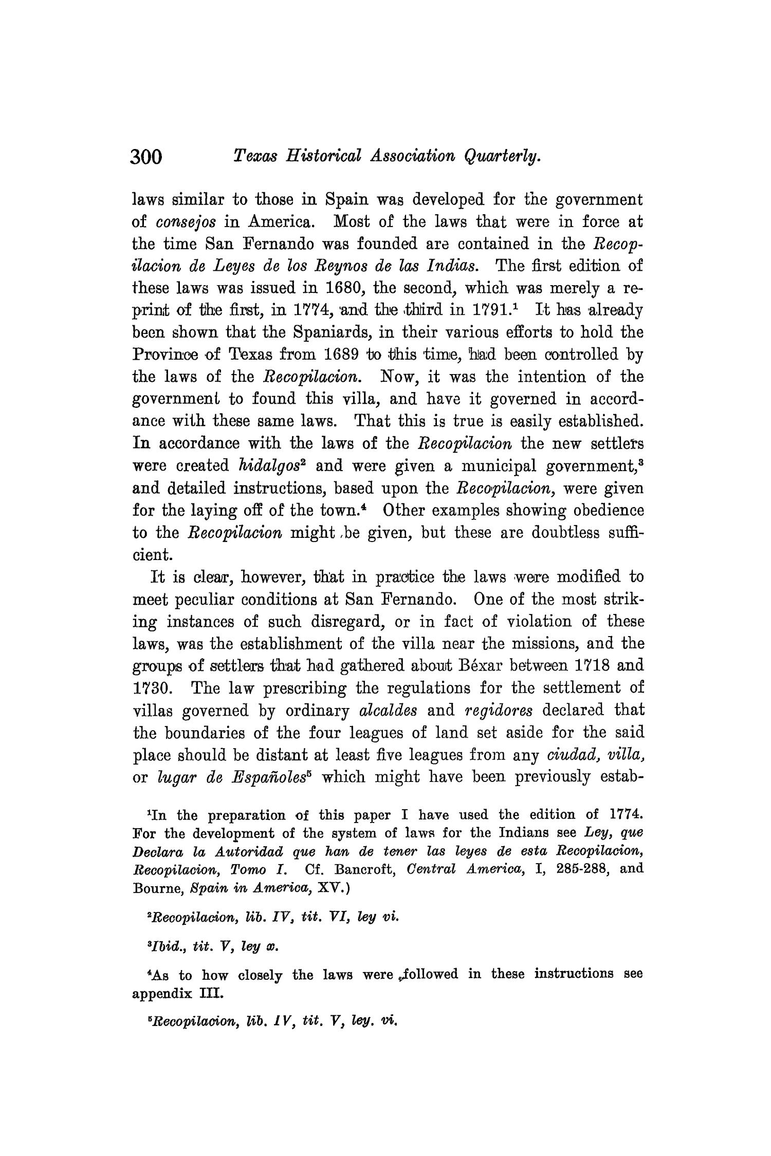 The Quarterly of the Texas State Historical Association, Volume 8, July 1904 - April, 1905                                                                                                      300