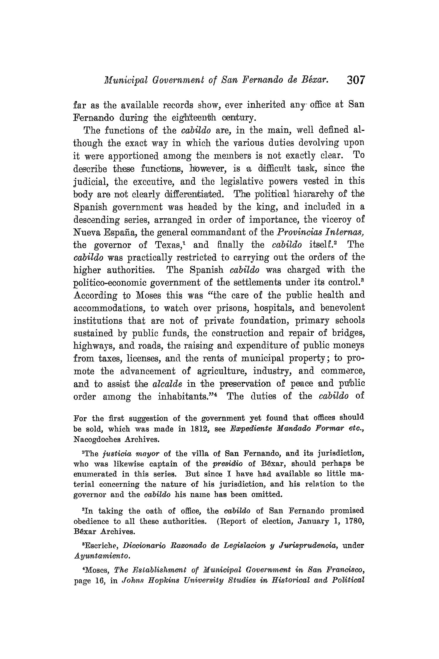 The Quarterly of the Texas State Historical Association, Volume 8, July 1904 - April, 1905                                                                                                      307
