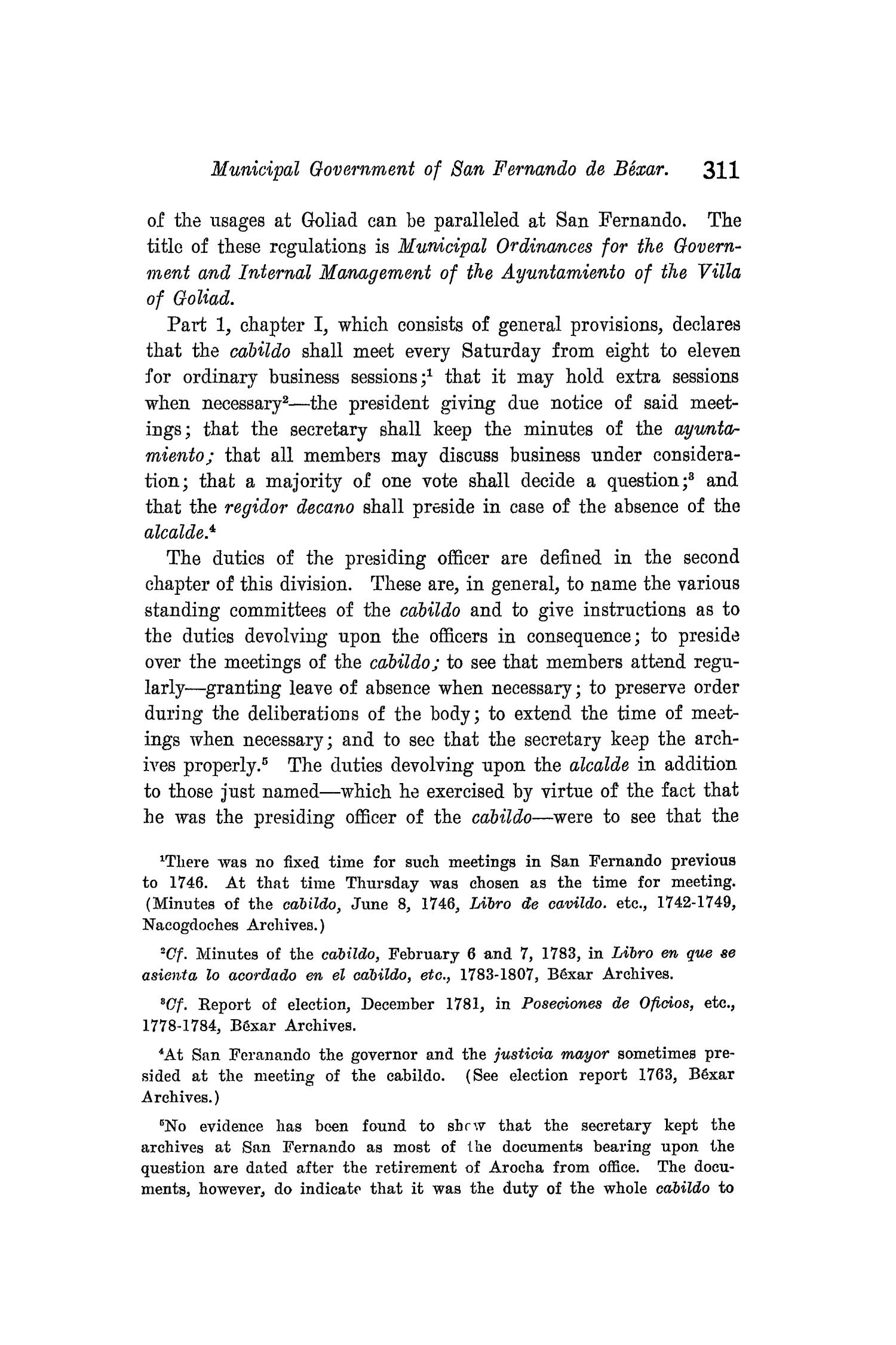 The Quarterly of the Texas State Historical Association, Volume 8, July 1904 - April, 1905                                                                                                      311