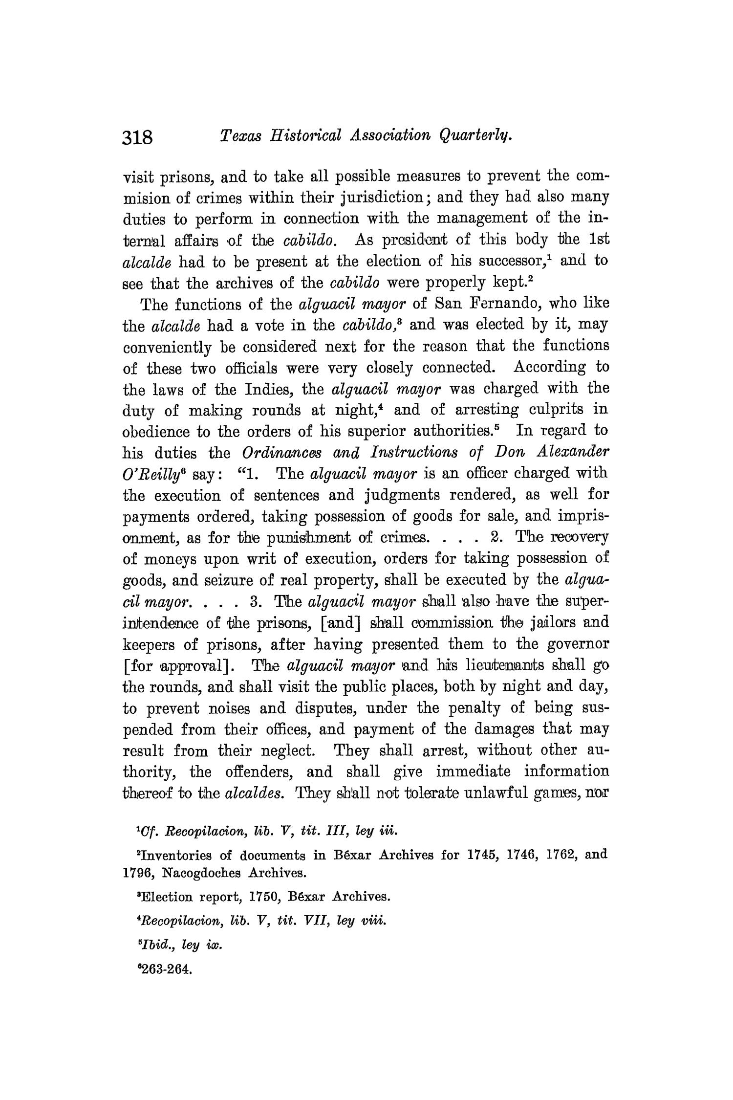 The Quarterly of the Texas State Historical Association, Volume 8, July 1904 - April, 1905                                                                                                      318