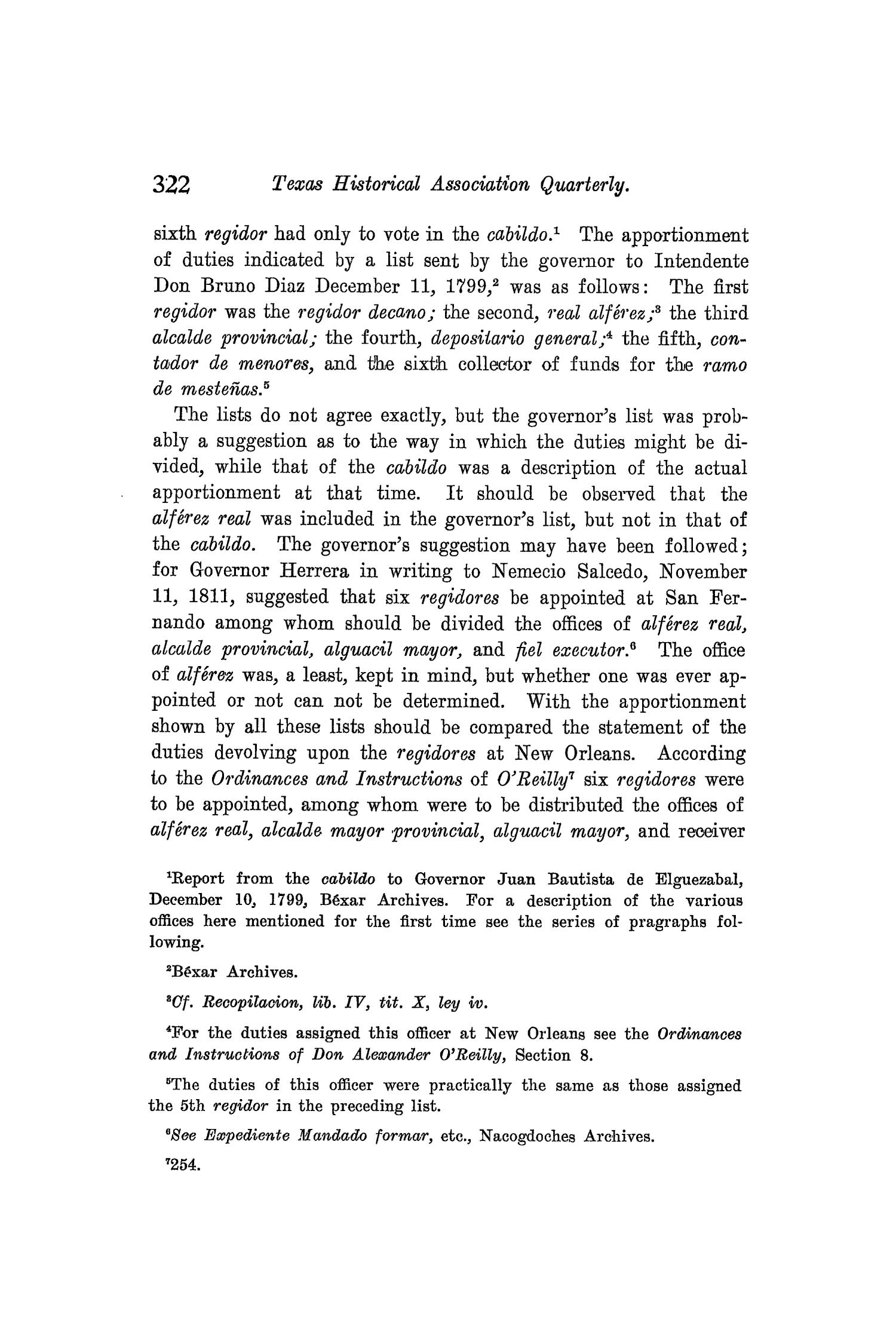 The Quarterly of the Texas State Historical Association, Volume 8, July 1904 - April, 1905                                                                                                      322