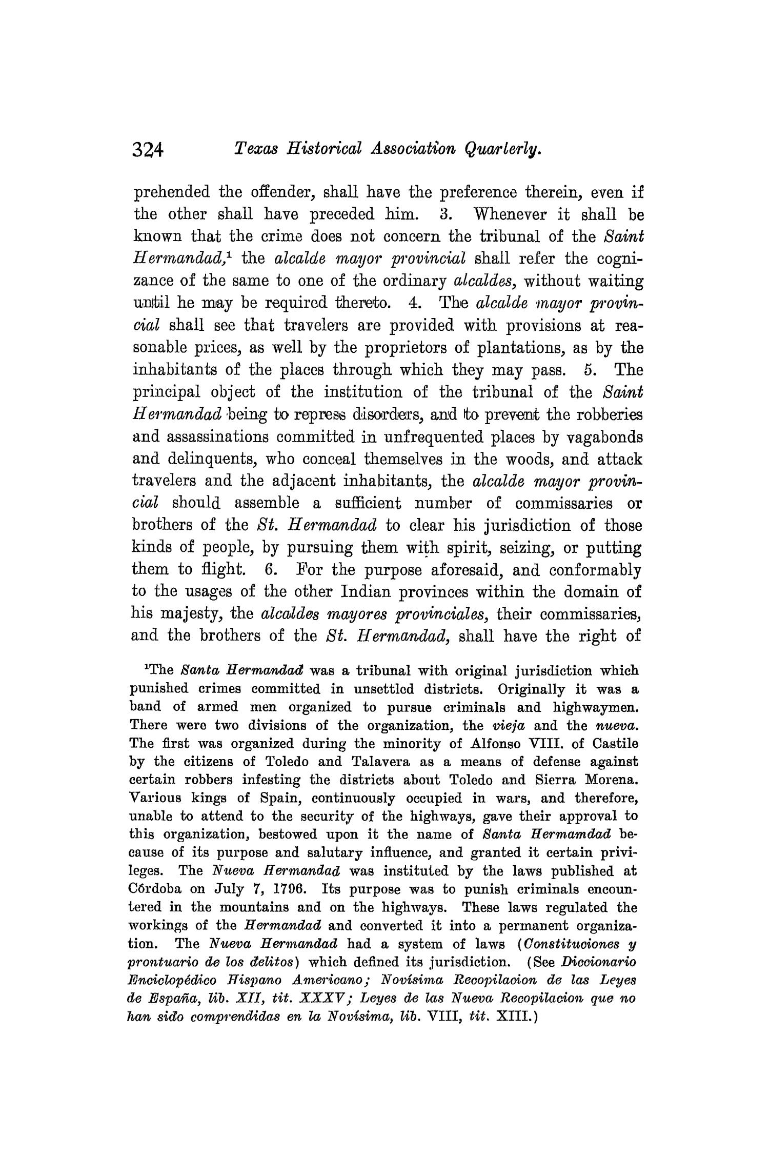 The Quarterly of the Texas State Historical Association, Volume 8, July 1904 - April, 1905                                                                                                      324