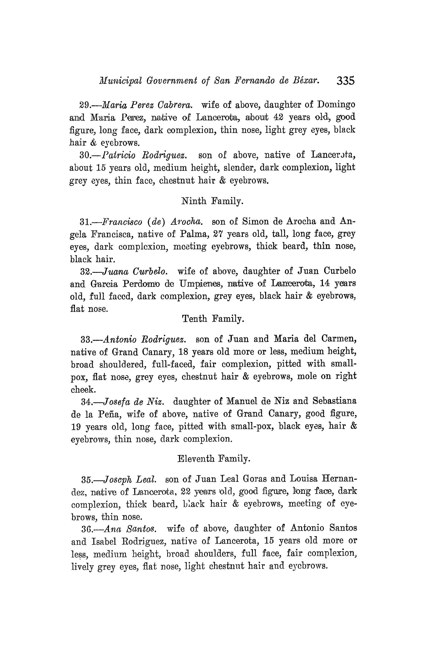 The Quarterly of the Texas State Historical Association, Volume 8, July 1904 - April, 1905                                                                                                      335