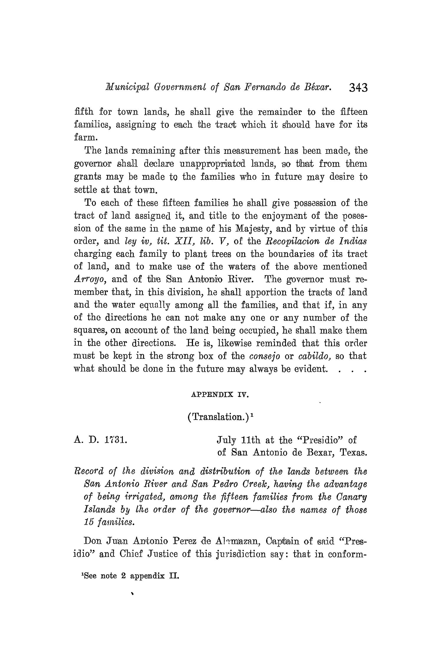 The Quarterly of the Texas State Historical Association, Volume 8, July 1904 - April, 1905                                                                                                      343
