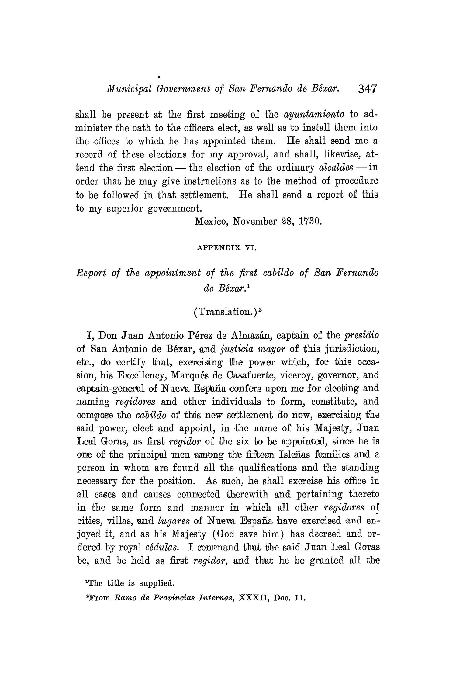 The Quarterly of the Texas State Historical Association, Volume 8, July 1904 - April, 1905                                                                                                      347