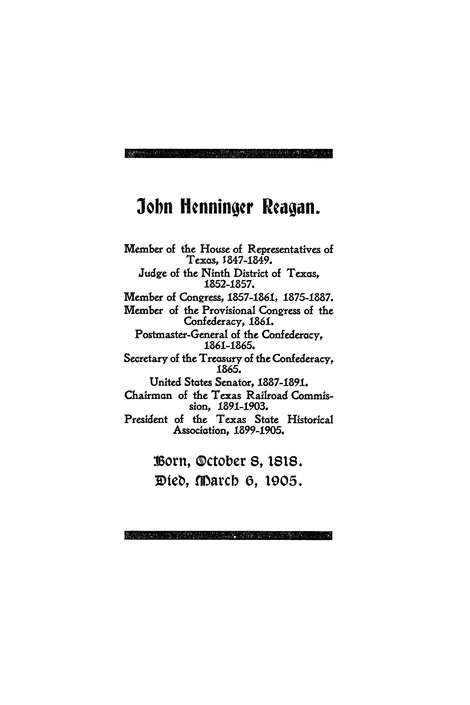 The Quarterly of the Texas State Historical Association, Volume 8, July 1904 - April, 1905                                                                                                      355