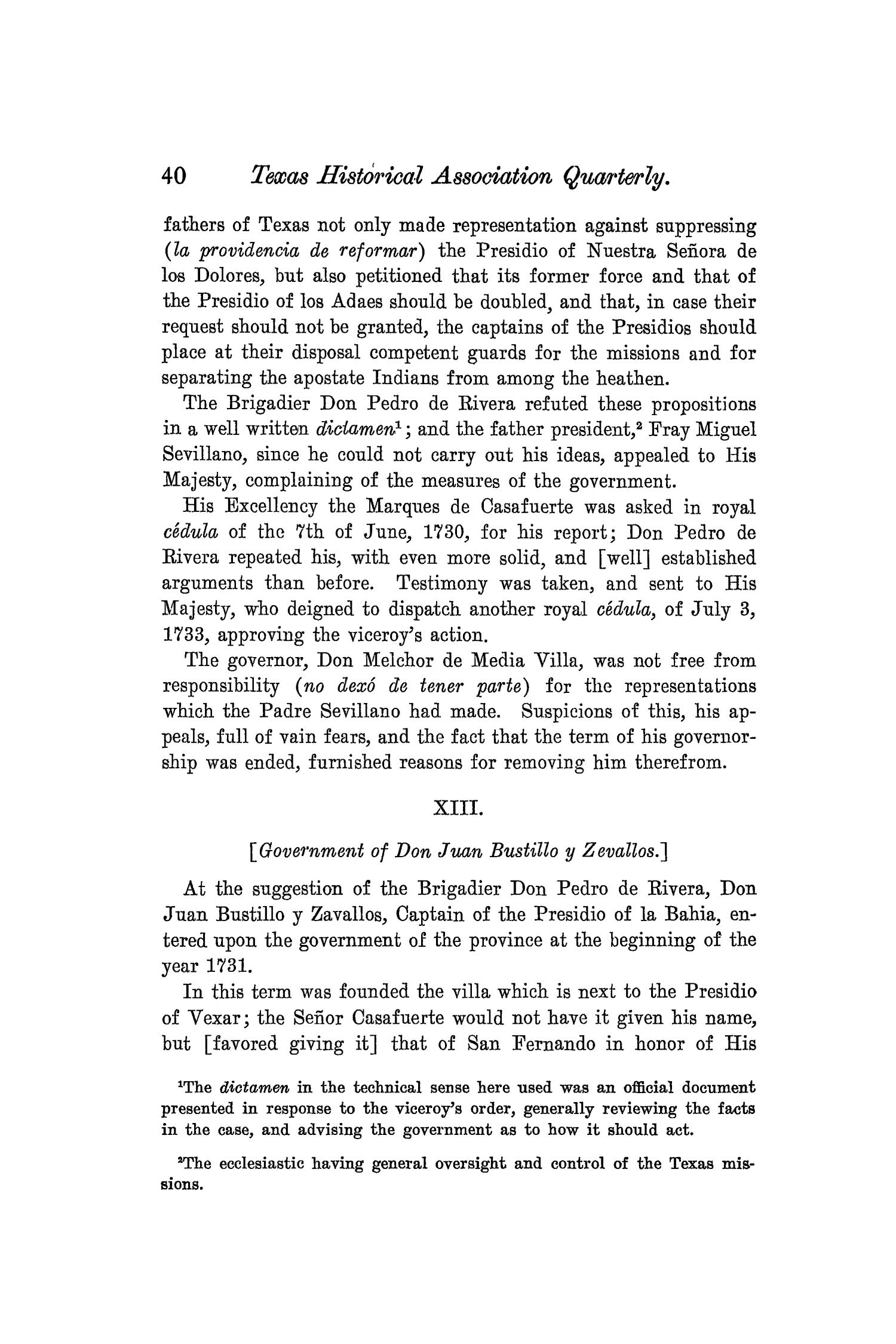 The Quarterly of the Texas State Historical Association, Volume 8, July 1904 - April, 1905                                                                                                      40