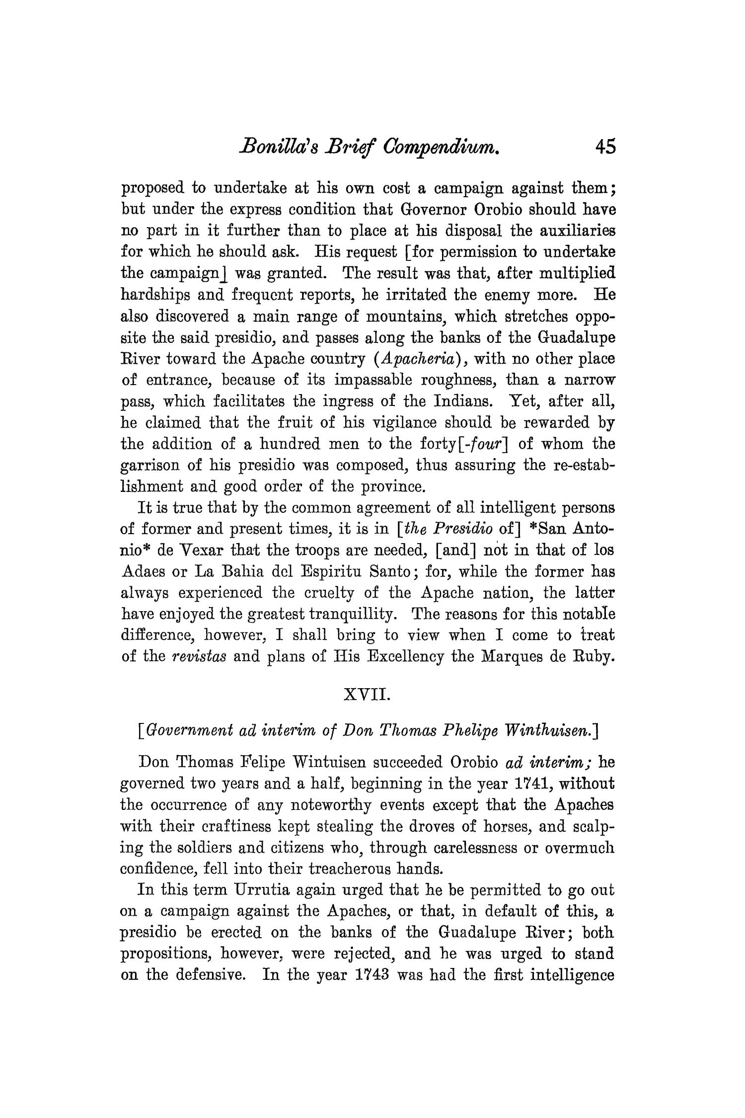 The Quarterly of the Texas State Historical Association, Volume 8, July 1904 - April, 1905                                                                                                      45