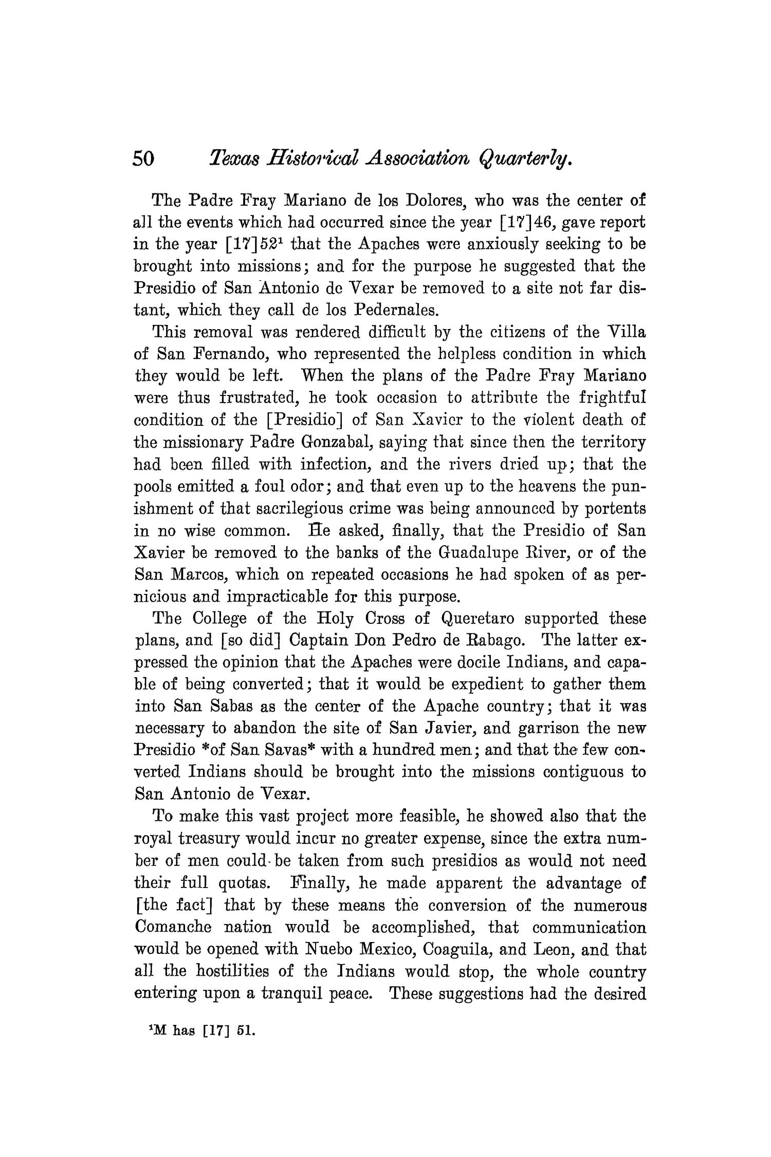 The Quarterly of the Texas State Historical Association, Volume 8, July 1904 - April, 1905                                                                                                      50