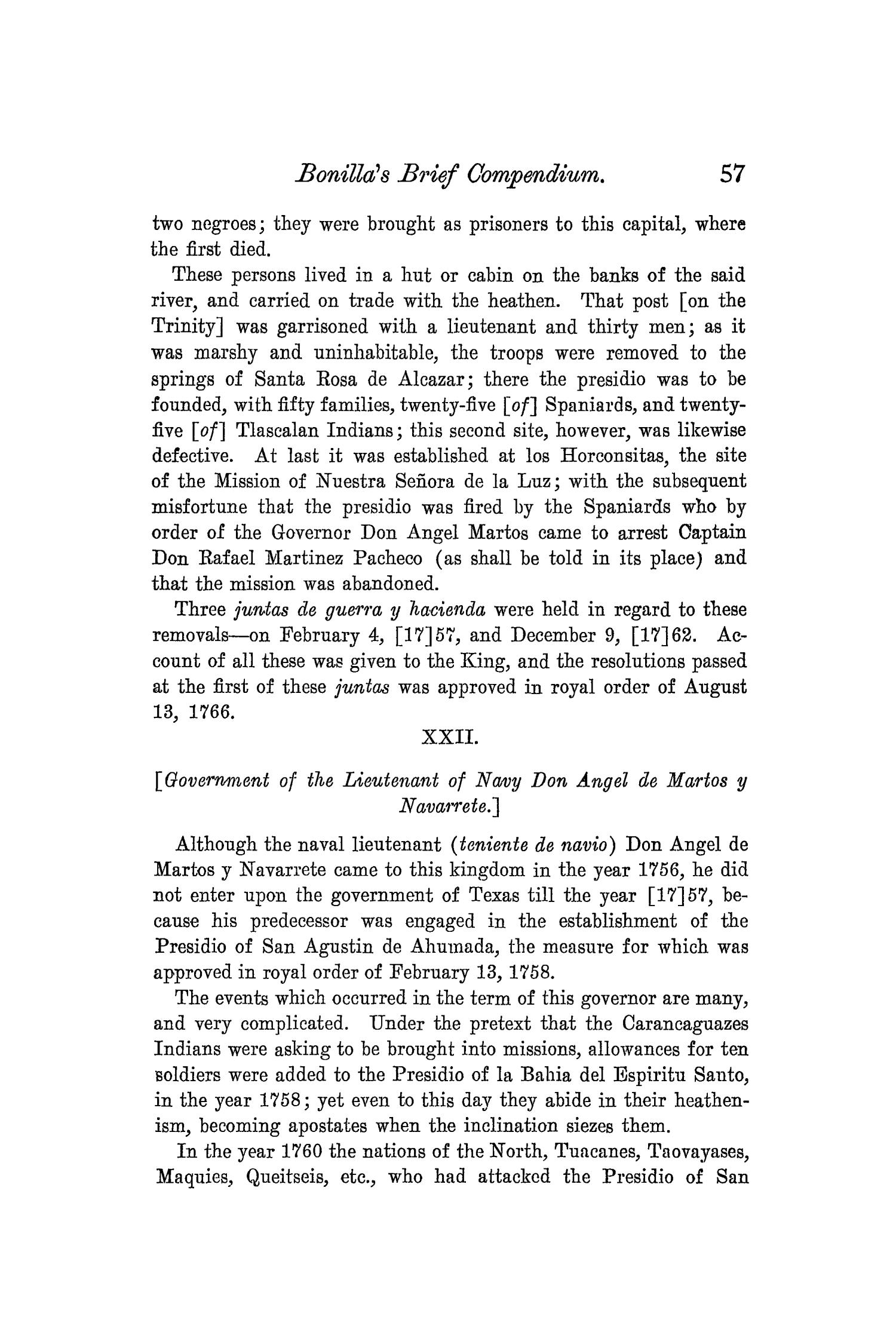 The Quarterly of the Texas State Historical Association, Volume 8, July 1904 - April, 1905                                                                                                      57