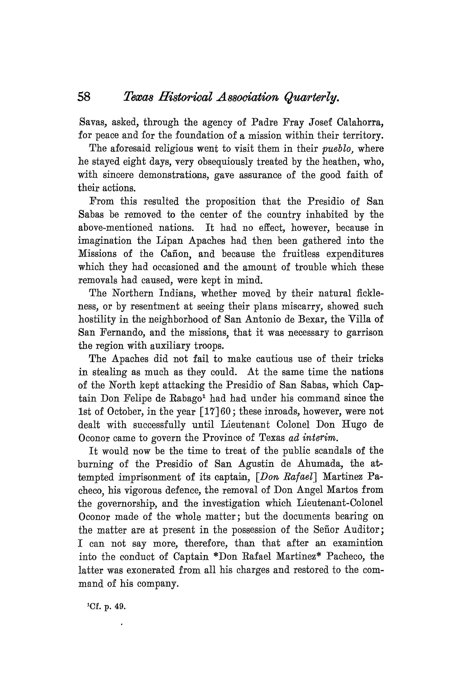 The Quarterly of the Texas State Historical Association, Volume 8, July 1904 - April, 1905                                                                                                      58