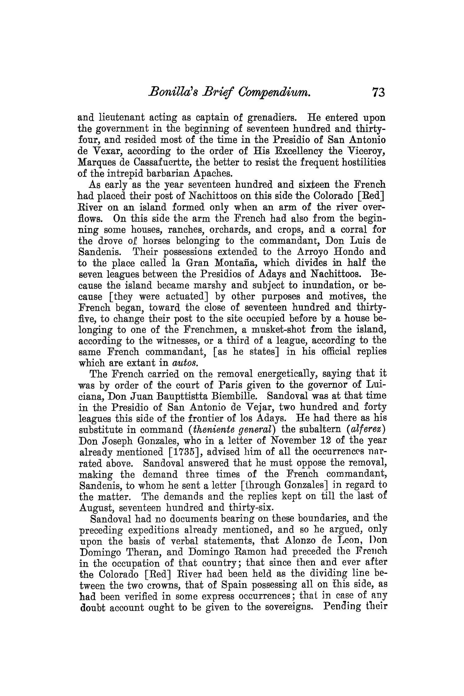 The Quarterly of the Texas State Historical Association, Volume 8, July 1904 - April, 1905                                                                                                      73