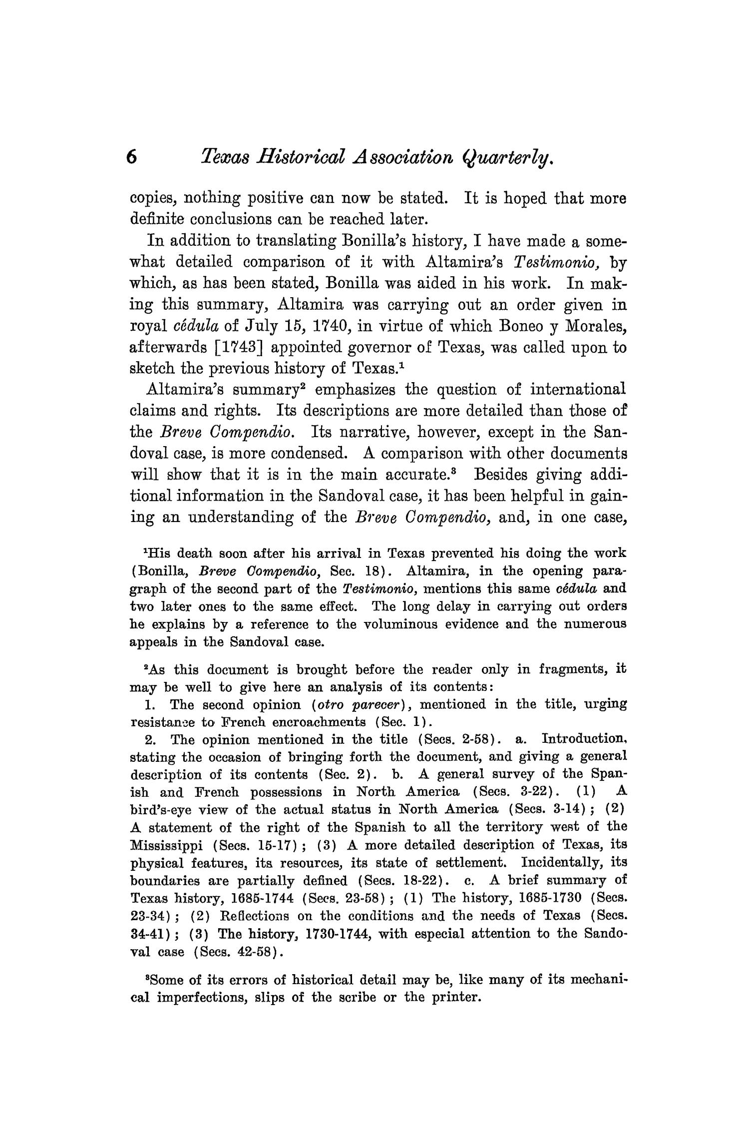 The Quarterly of the Texas State Historical Association, Volume 8, July 1904 - April, 1905                                                                                                      6