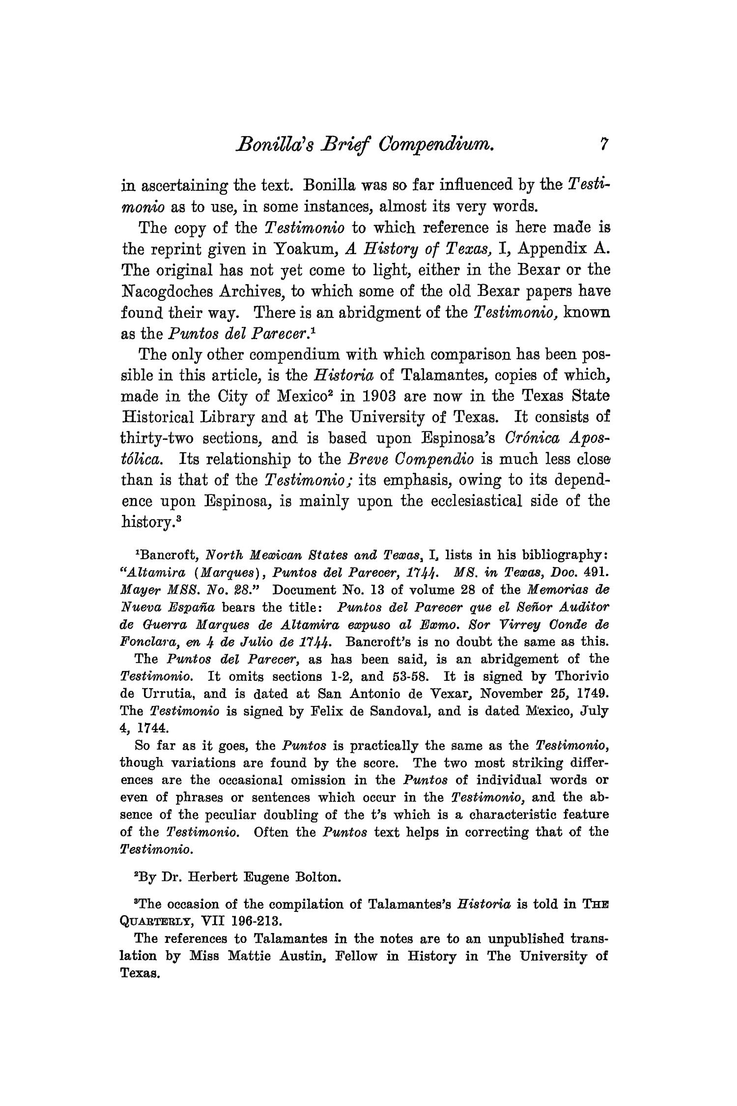 The Quarterly of the Texas State Historical Association, Volume 8, July 1904 - April, 1905                                                                                                      7