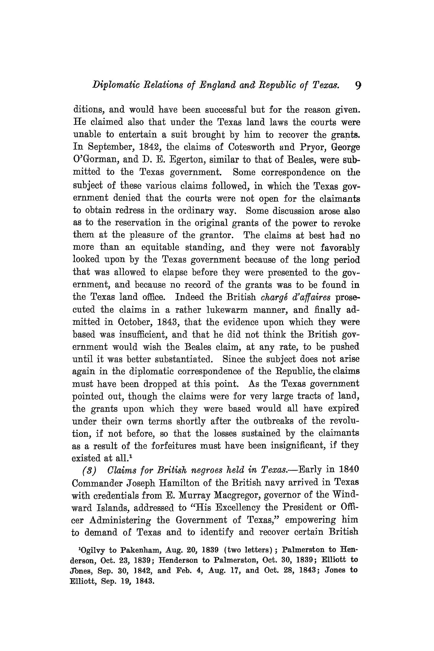 The Quarterly of the Texas State Historical Association, Volume 9, July 1905 - April, 1906                                                                                                      9