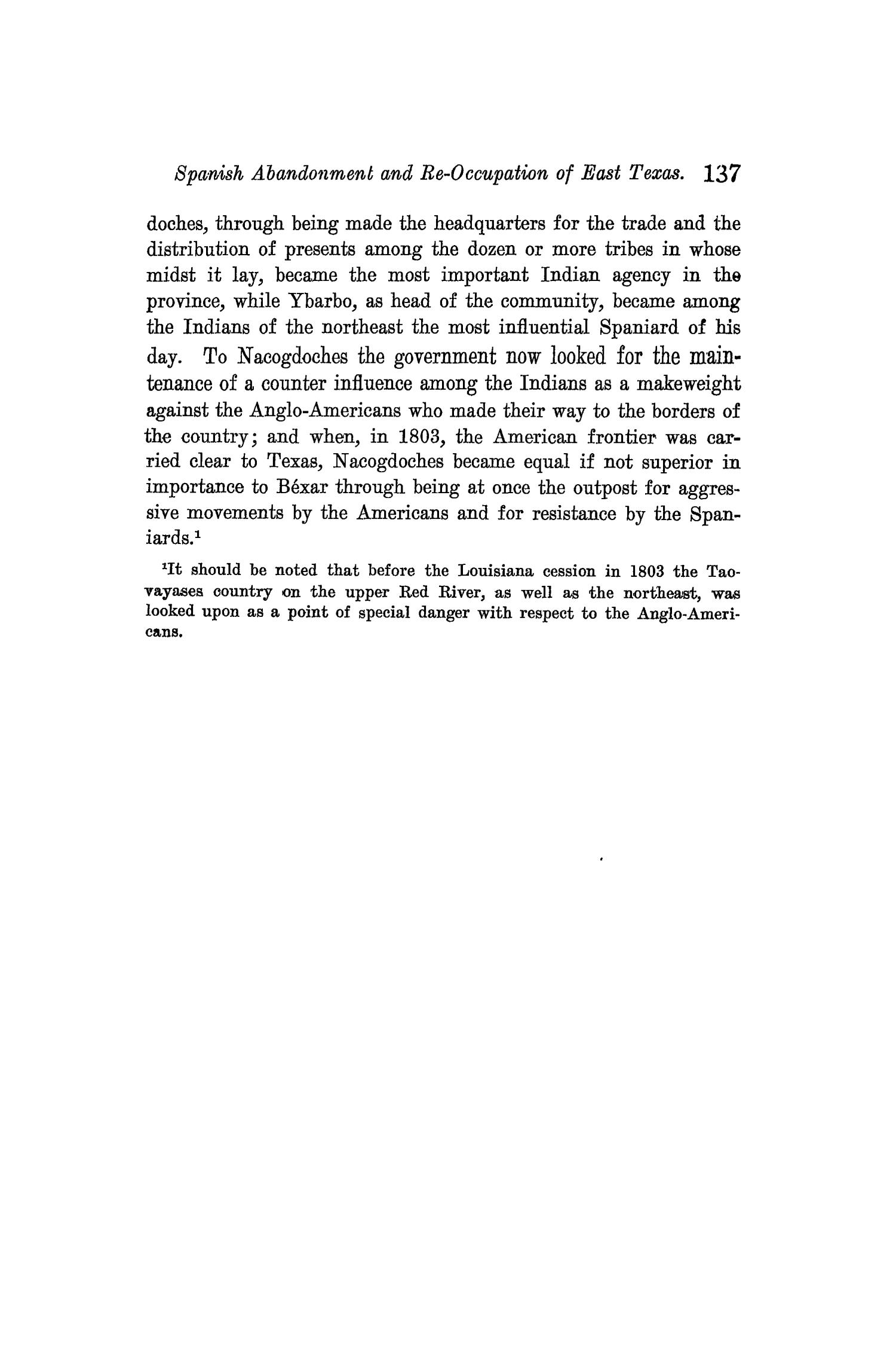 The Quarterly of the Texas State Historical Association, Volume 9, July 1905 - April, 1906                                                                                                      137