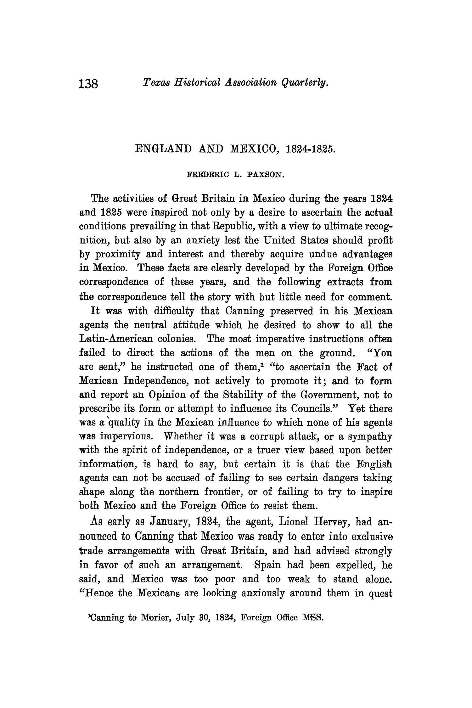 The Quarterly of the Texas State Historical Association, Volume 9, July 1905 - April, 1906                                                                                                      138