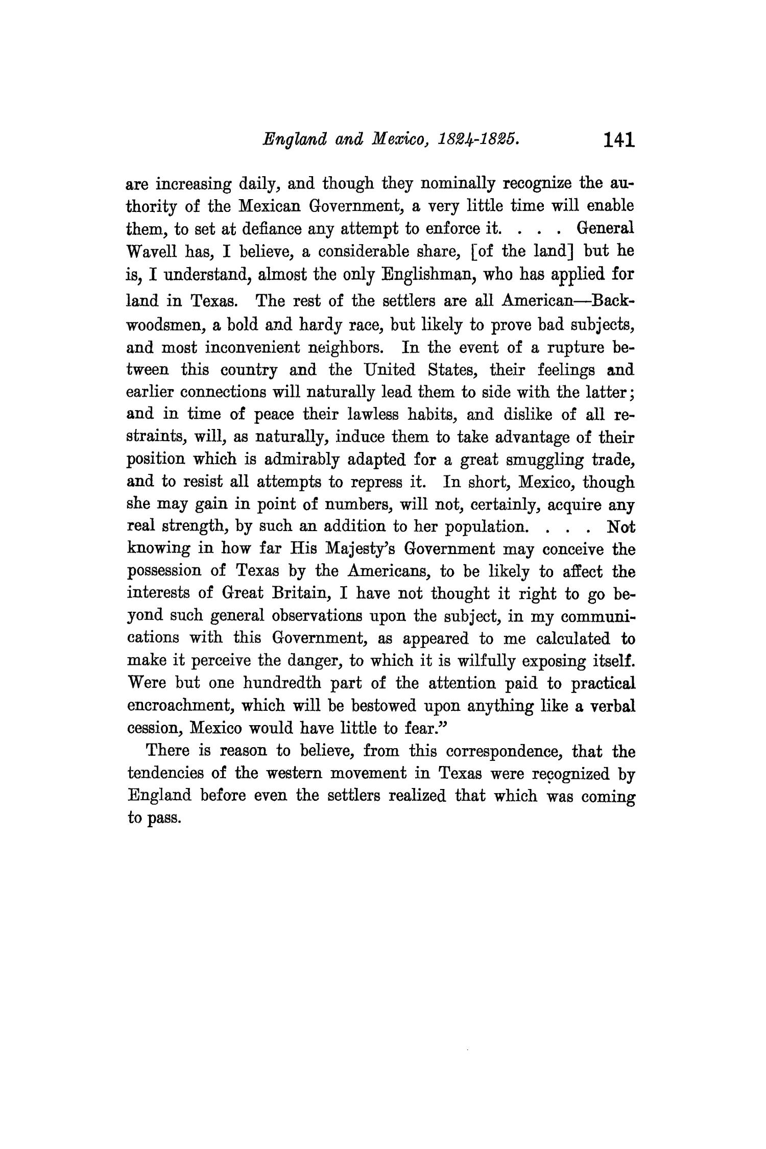 The Quarterly of the Texas State Historical Association, Volume 9, July 1905 - April, 1906                                                                                                      141