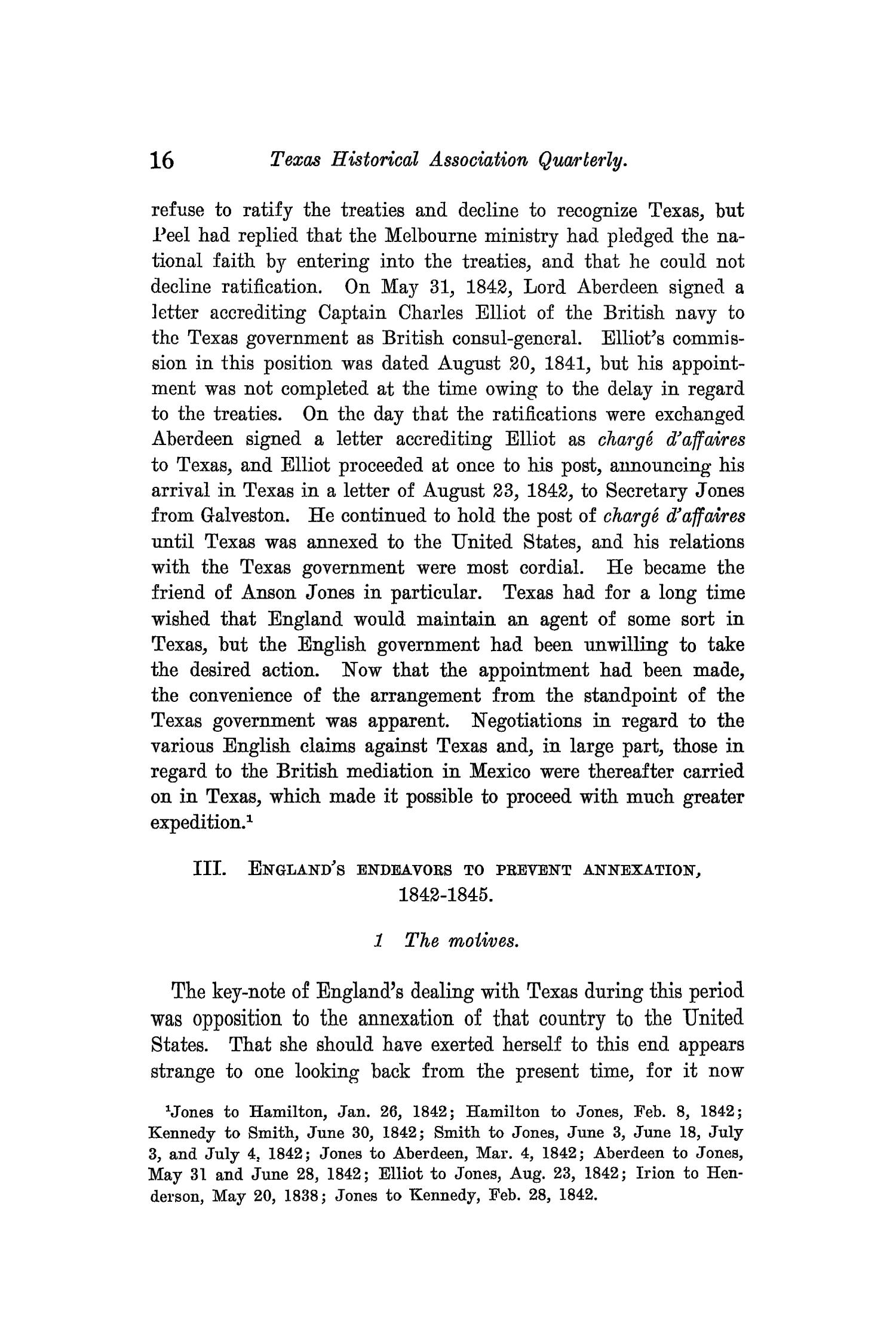 The Quarterly of the Texas State Historical Association, Volume 9, July 1905 - April, 1906                                                                                                      16
