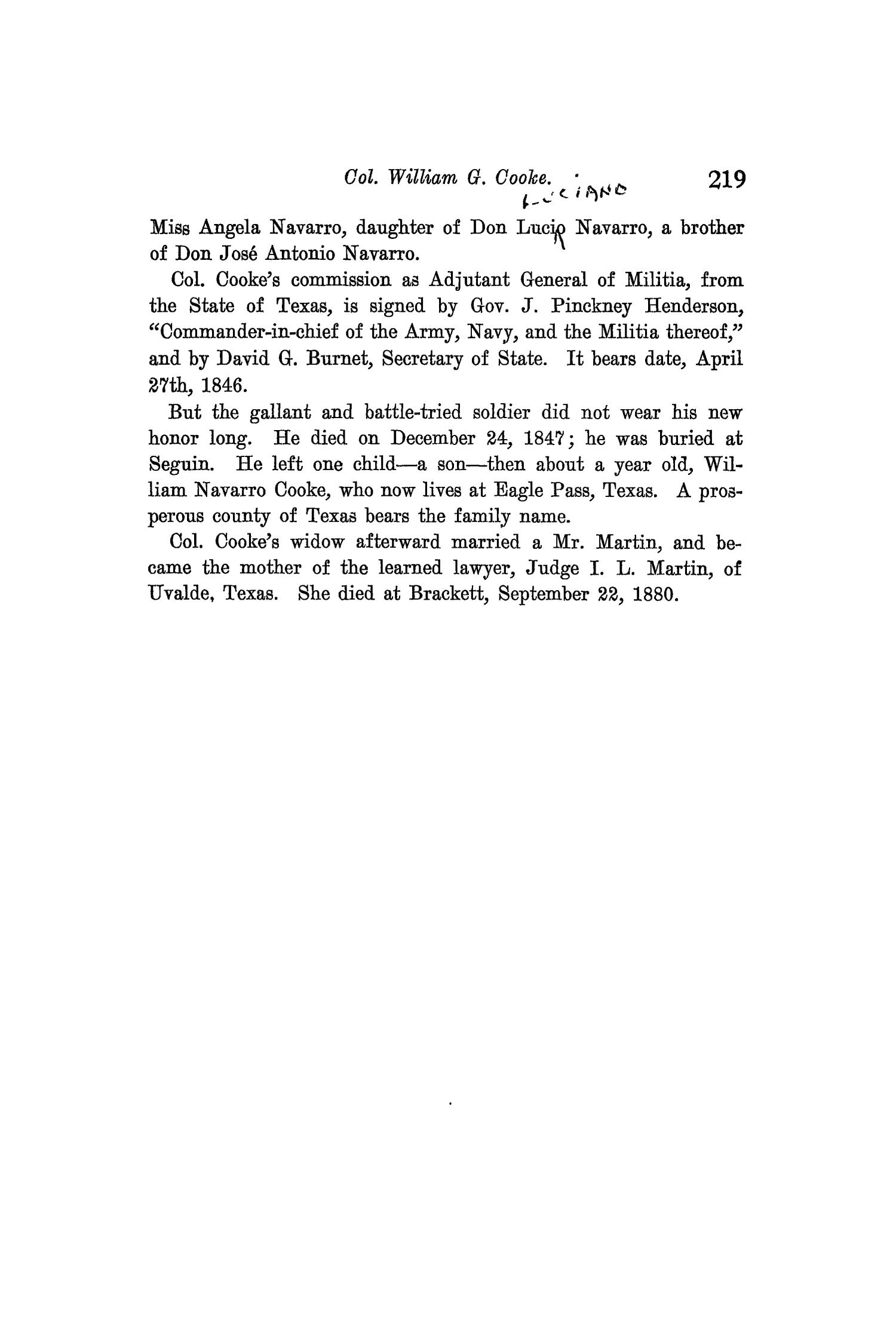 The Quarterly of the Texas State Historical Association, Volume 9, July 1905 - April, 1906                                                                                                      219