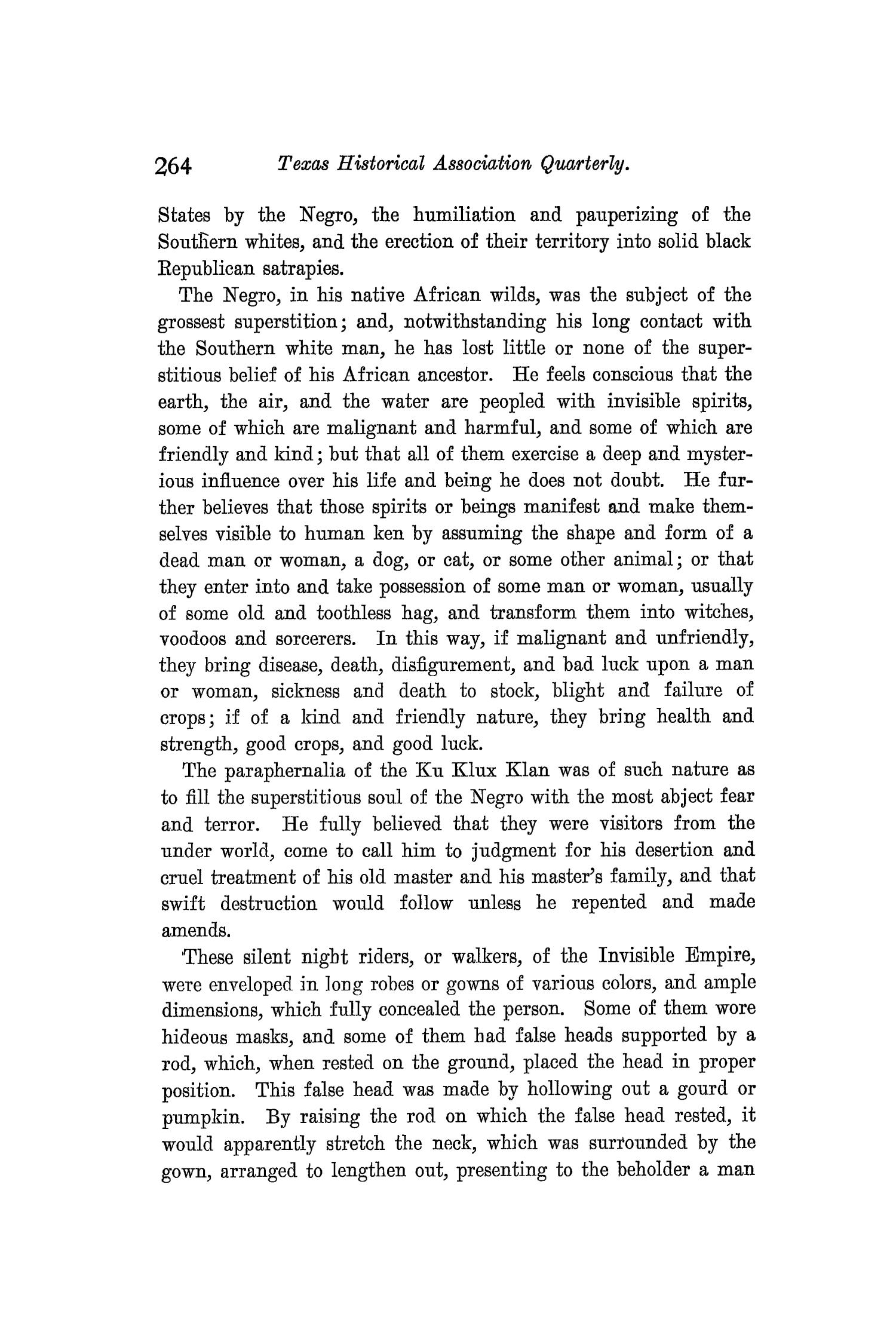 The Quarterly of the Texas State Historical Association, Volume 9, July 1905 - April, 1906                                                                                                      264