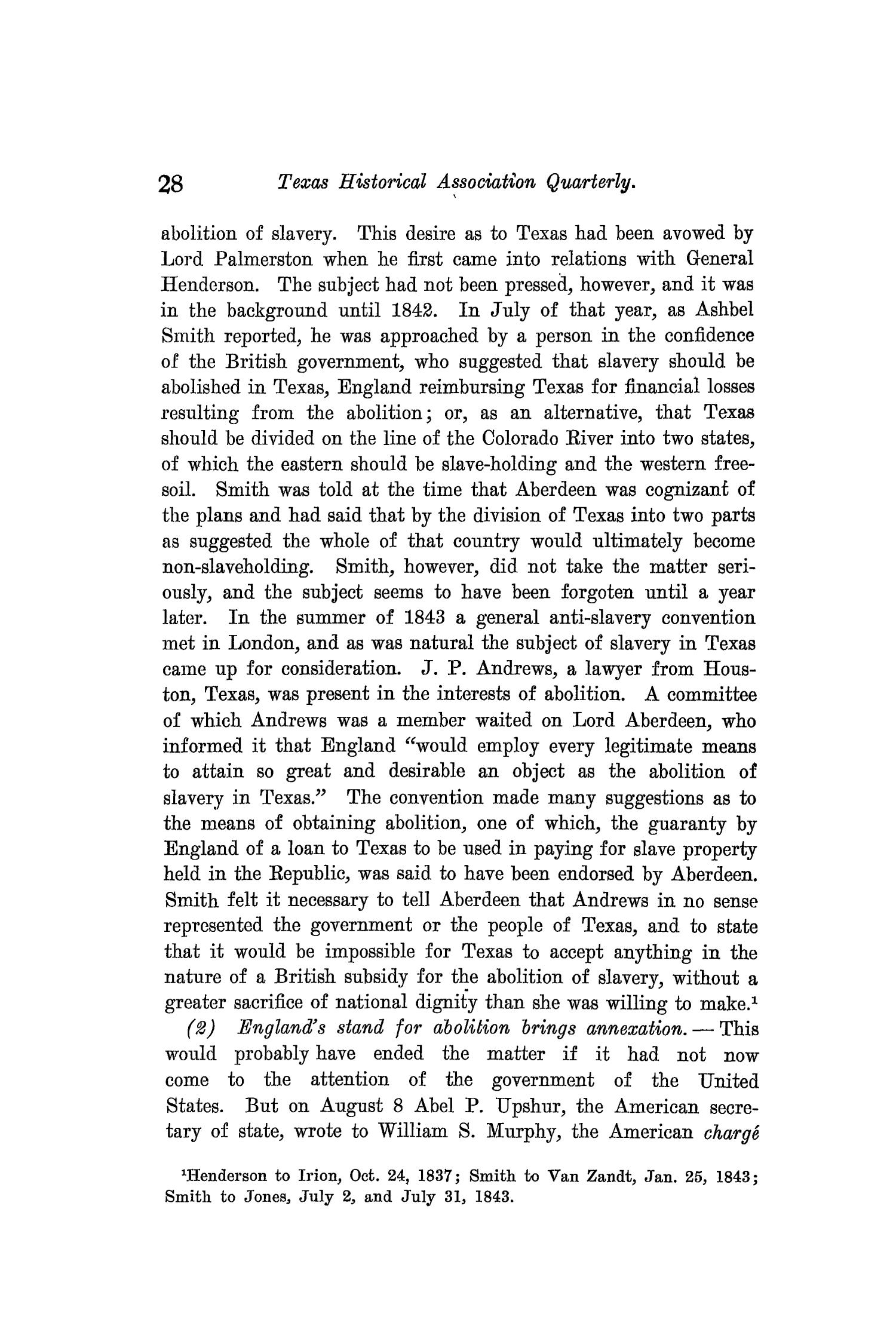 The Quarterly of the Texas State Historical Association, Volume 9, July 1905 - April, 1906                                                                                                      28
