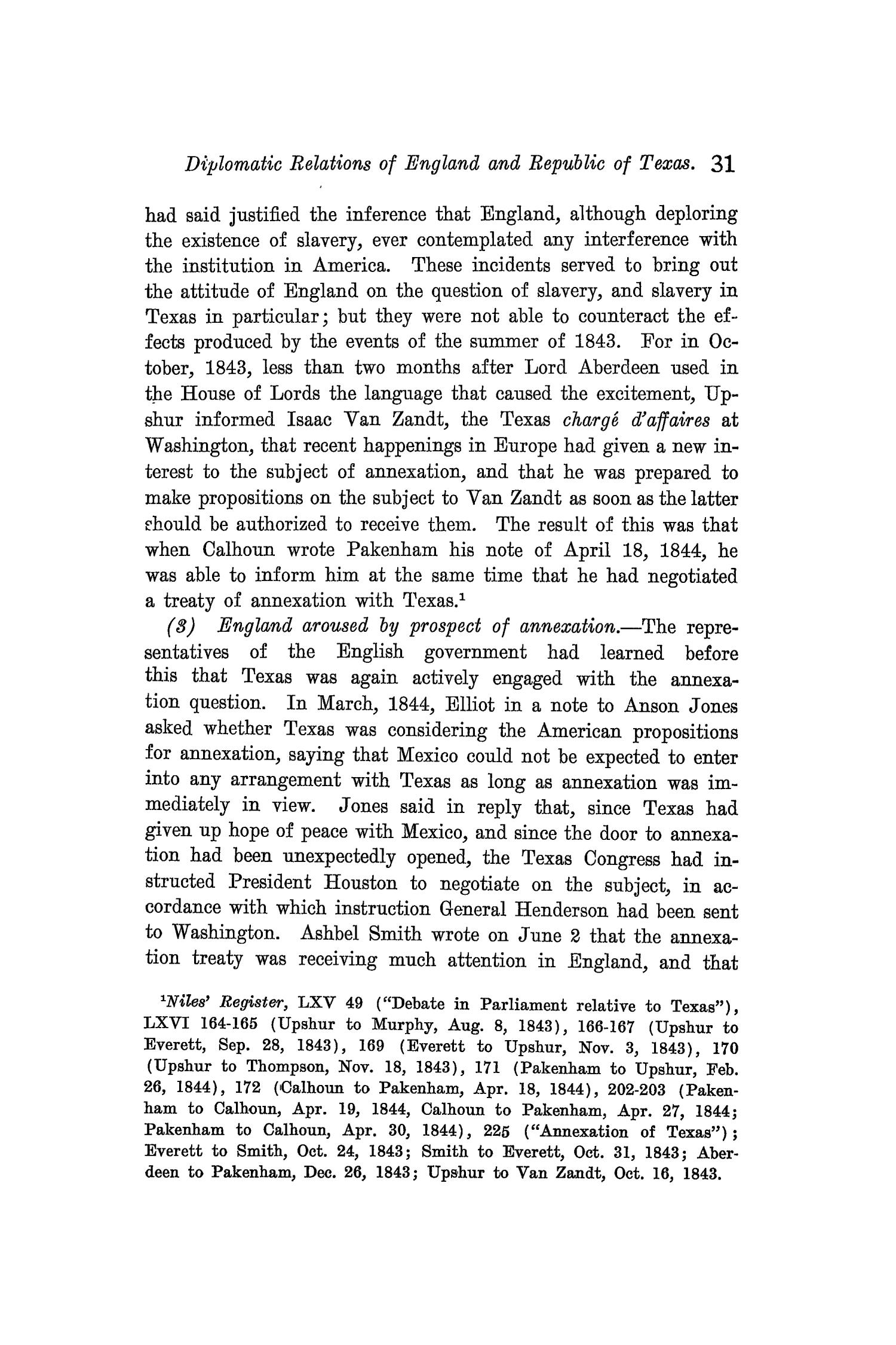 The Quarterly of the Texas State Historical Association, Volume 9, July 1905 - April, 1906                                                                                                      31