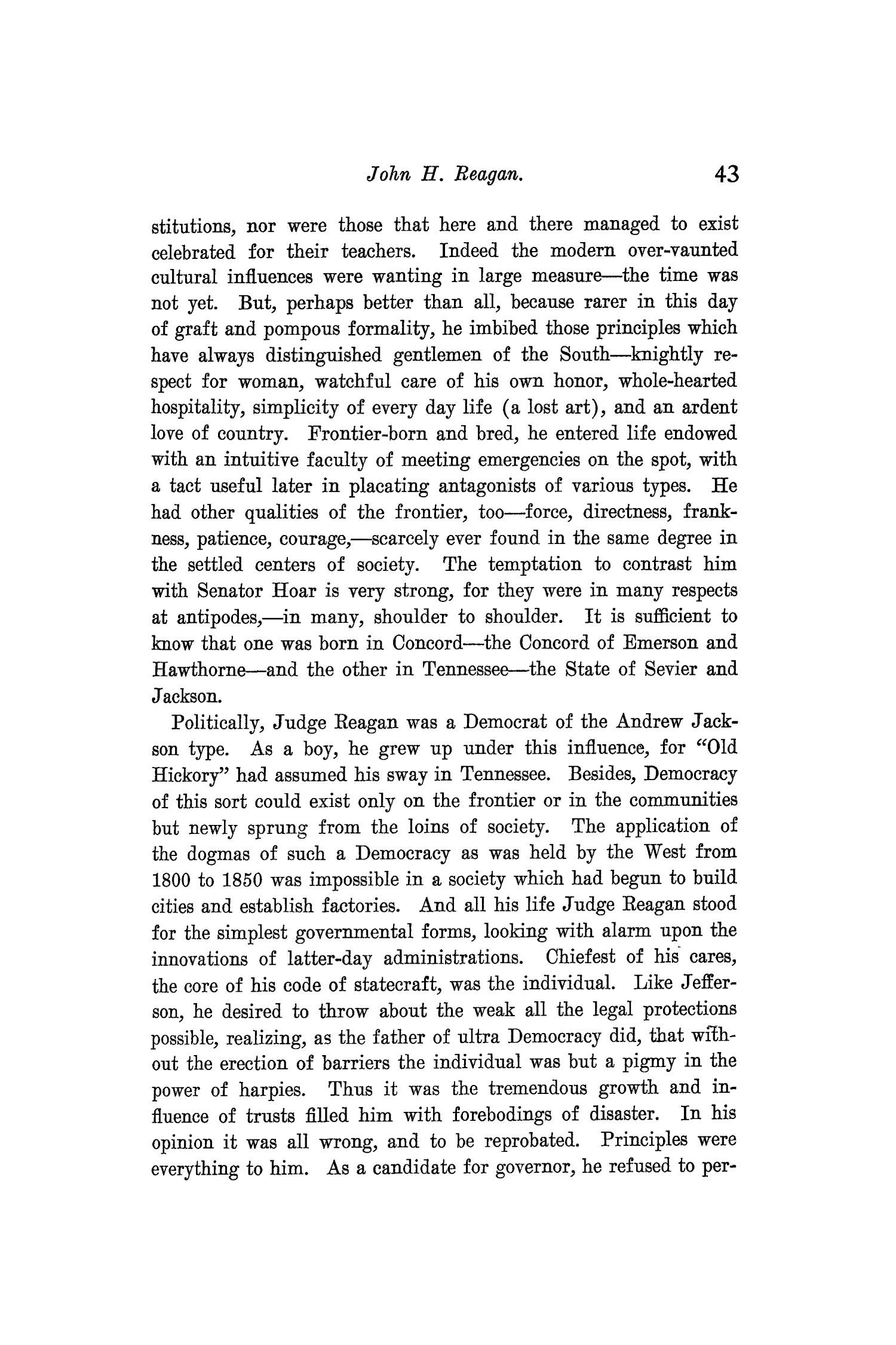 The Quarterly of the Texas State Historical Association, Volume 9, July 1905 - April, 1906                                                                                                      43