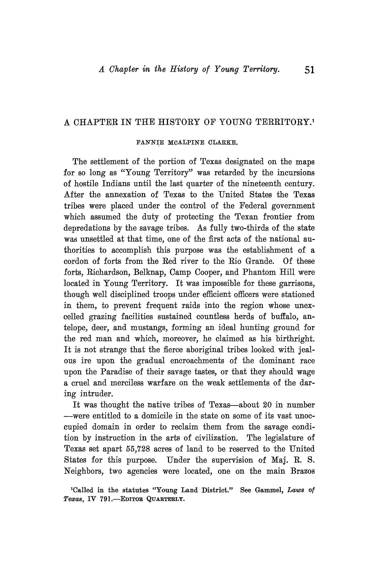 The Quarterly of the Texas State Historical Association, Volume 9, July 1905 - April, 1906                                                                                                      51