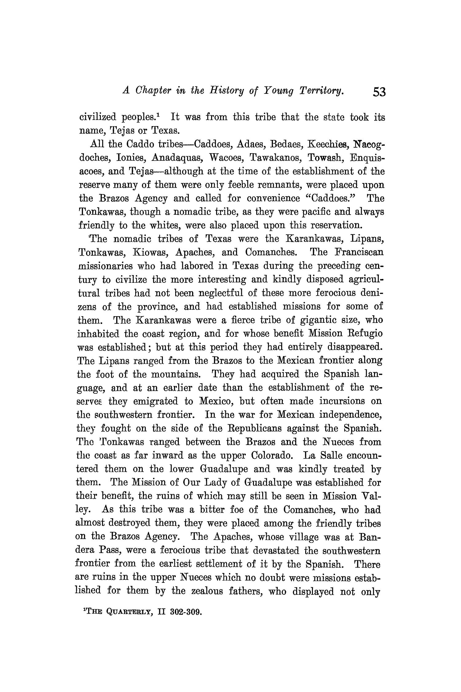 The Quarterly of the Texas State Historical Association, Volume 9, July 1905 - April, 1906                                                                                                      53