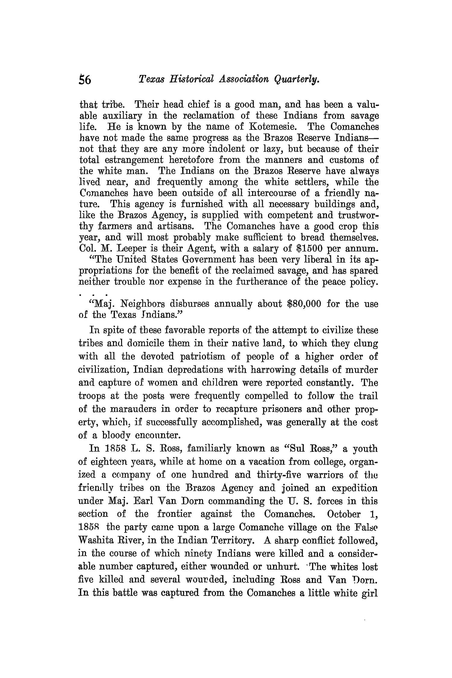 The Quarterly of the Texas State Historical Association, Volume 9, July 1905 - April, 1906                                                                                                      56