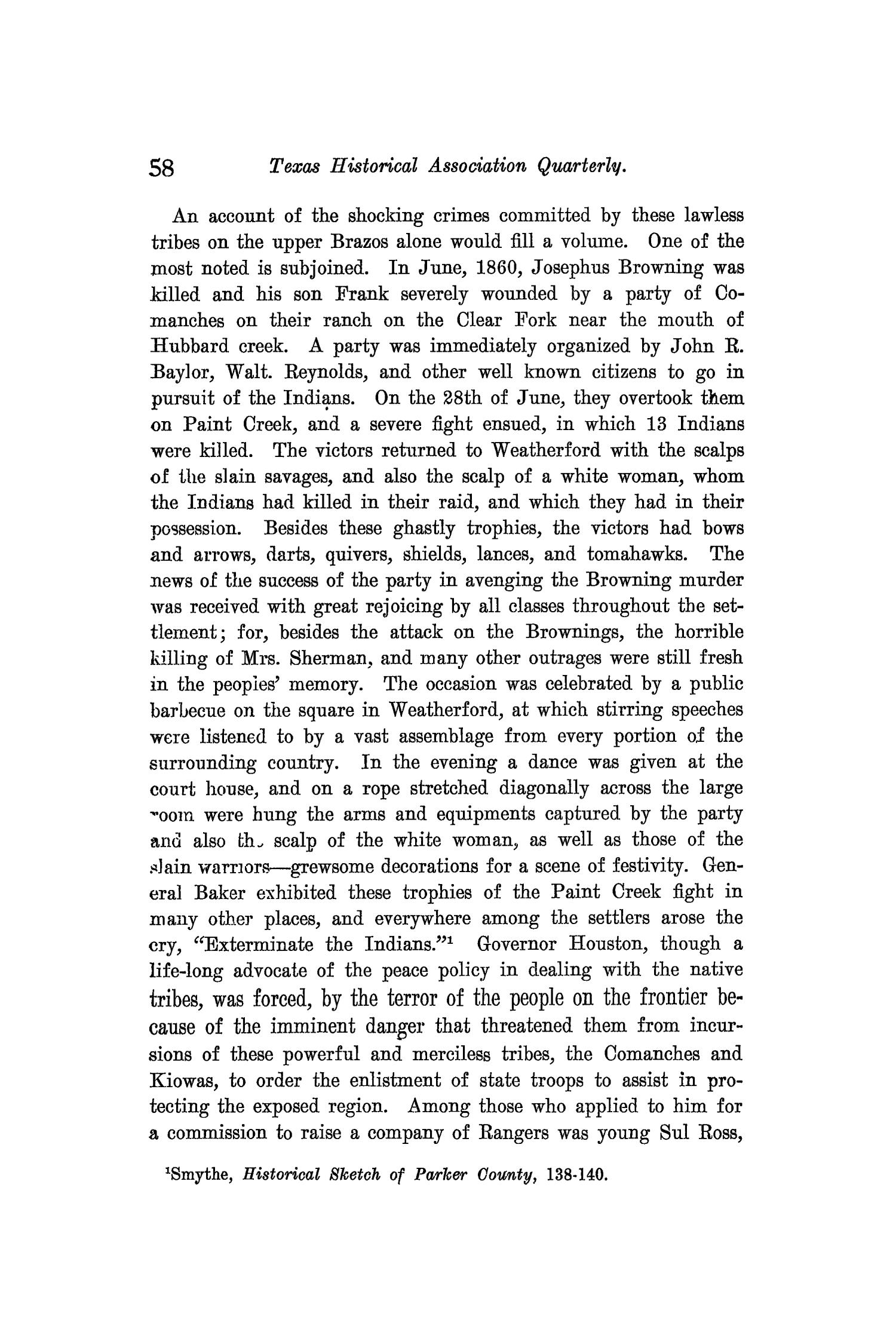 The Quarterly of the Texas State Historical Association, Volume 9, July 1905 - April, 1906                                                                                                      58