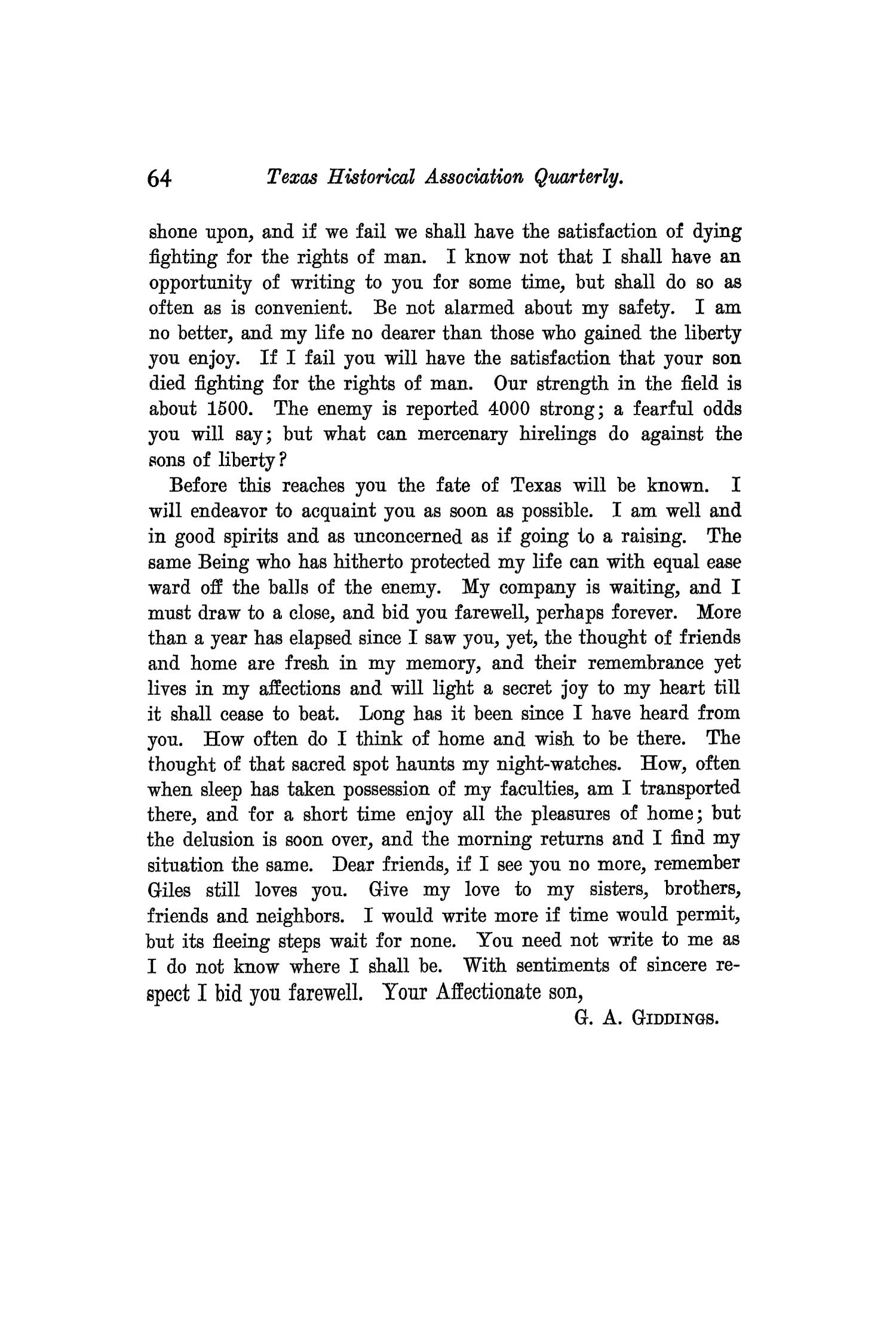 The Quarterly of the Texas State Historical Association, Volume 9, July 1905 - April, 1906                                                                                                      64