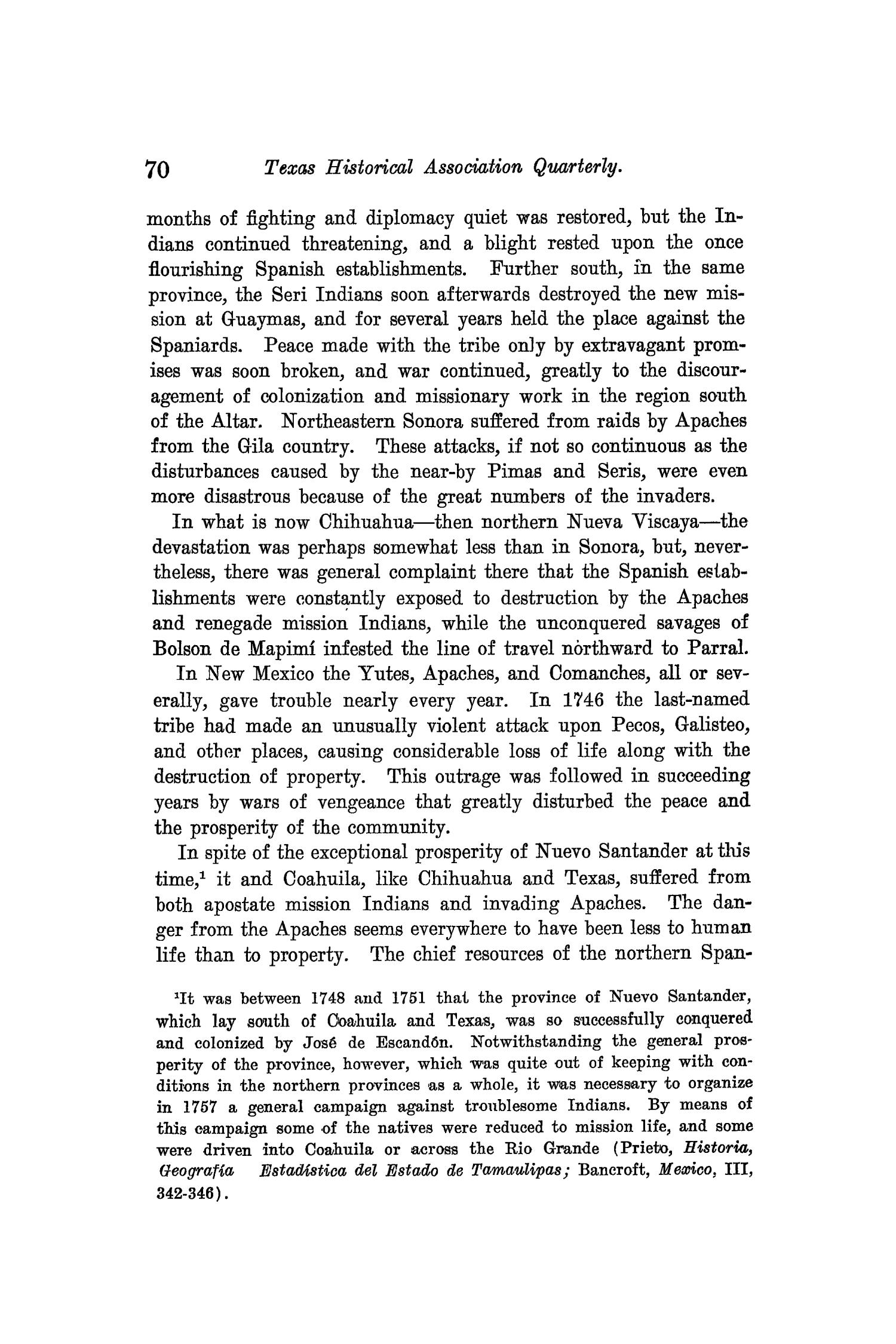 The Quarterly of the Texas State Historical Association, Volume 9, July 1905 - April, 1906                                                                                                      70