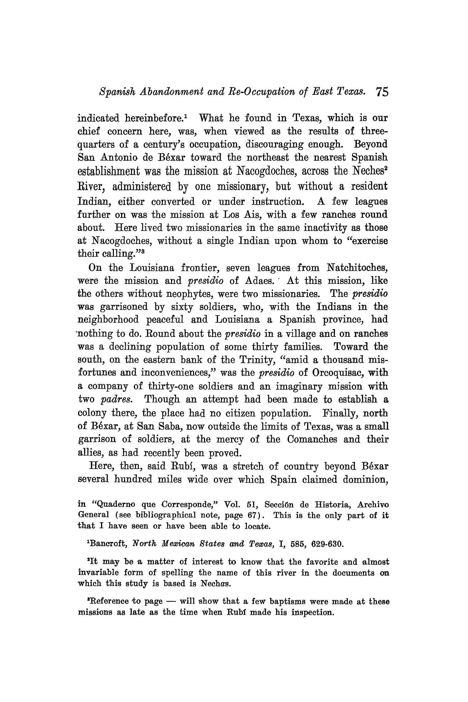 The Quarterly of the Texas State Historical Association, Volume 9, July 1905 - April, 1906                                                                                                      75