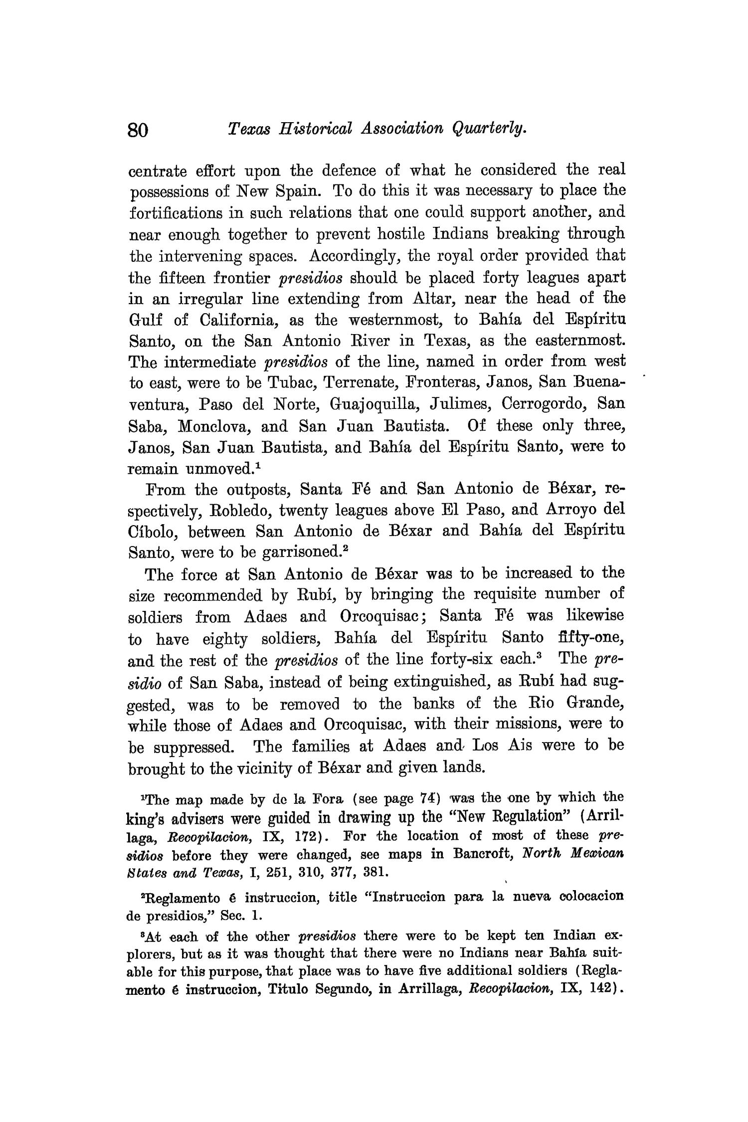 The Quarterly of the Texas State Historical Association, Volume 9, July 1905 - April, 1906                                                                                                      80