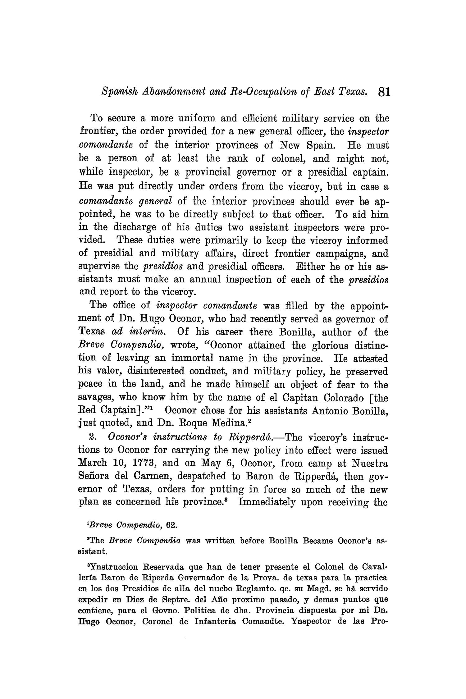 The Quarterly of the Texas State Historical Association, Volume 9, July 1905 - April, 1906                                                                                                      81