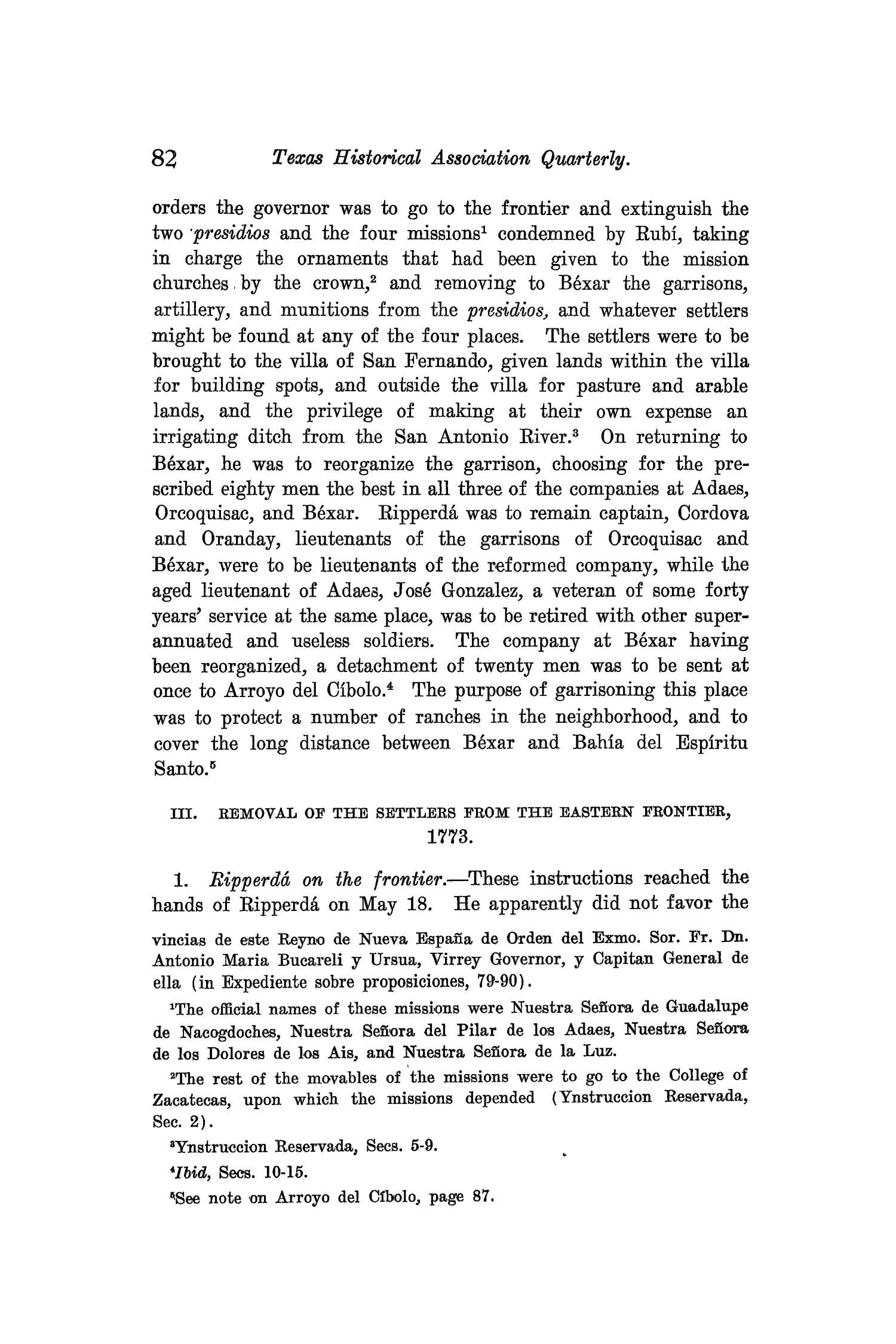 The Quarterly of the Texas State Historical Association, Volume 9, July 1905 - April, 1906                                                                                                      82