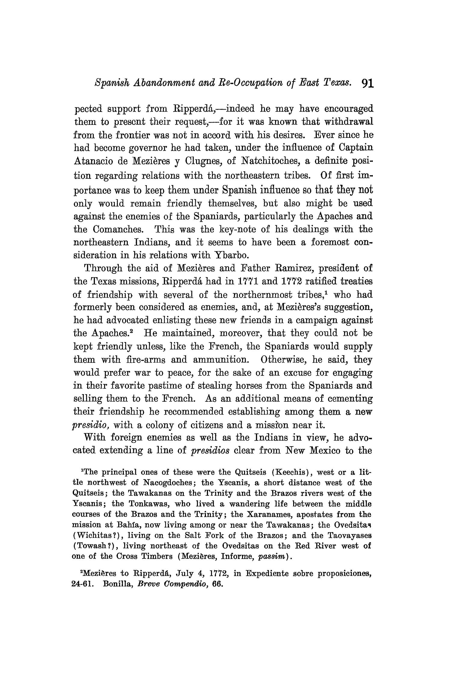The Quarterly of the Texas State Historical Association, Volume 9, July 1905 - April, 1906                                                                                                      91