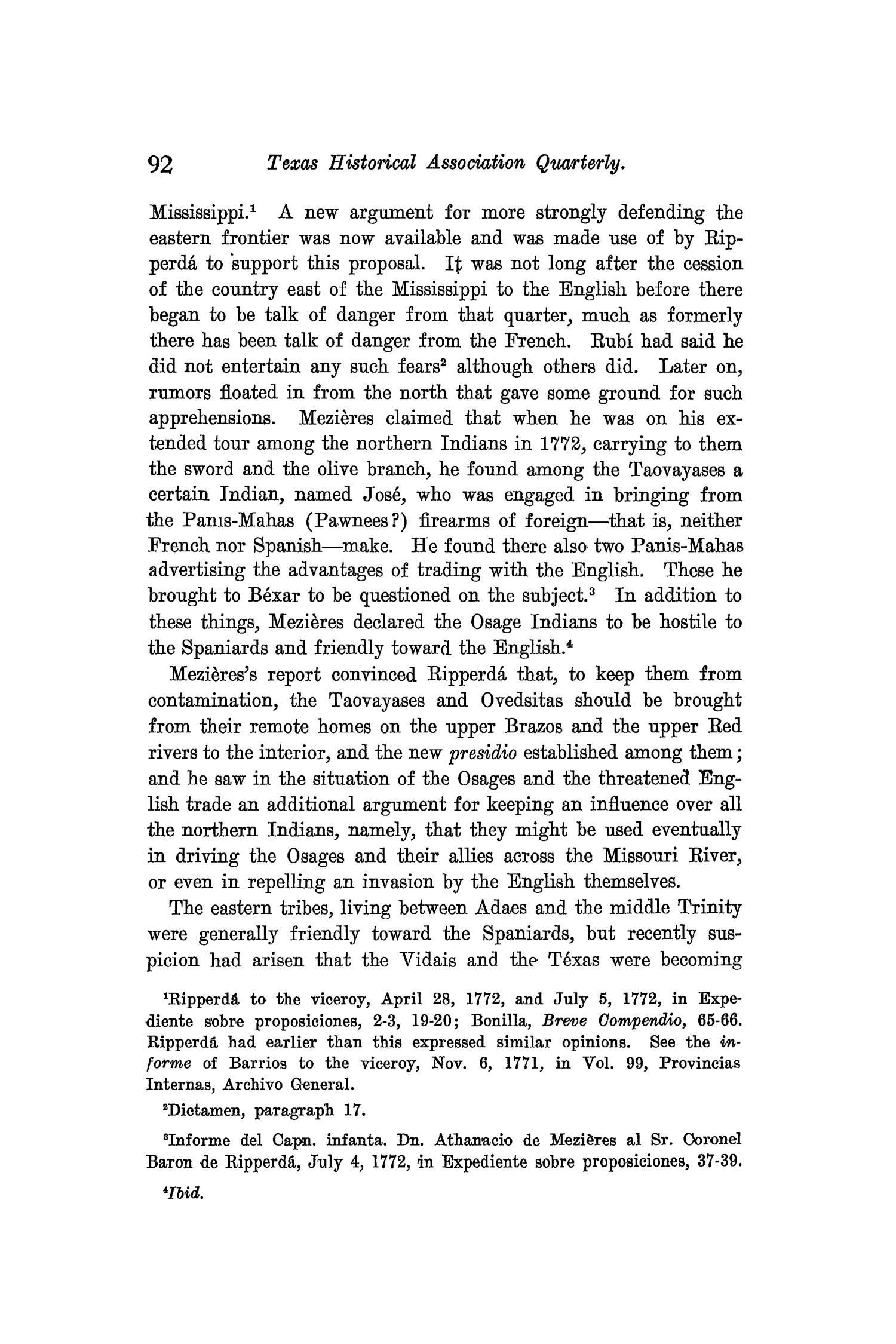 The Quarterly of the Texas State Historical Association, Volume 9, July 1905 - April, 1906                                                                                                      92