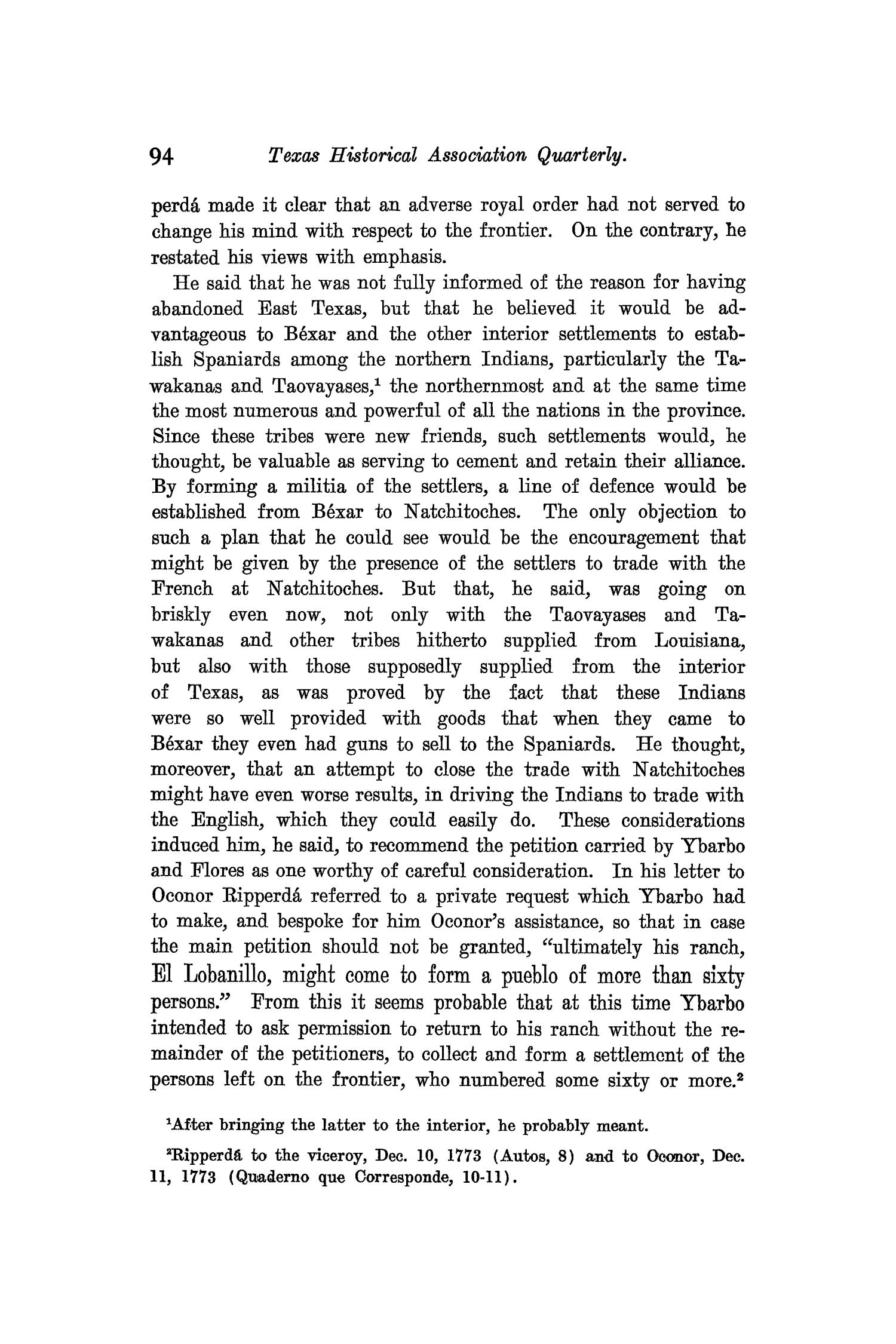 The Quarterly of the Texas State Historical Association, Volume 9, July 1905 - April, 1906                                                                                                      94