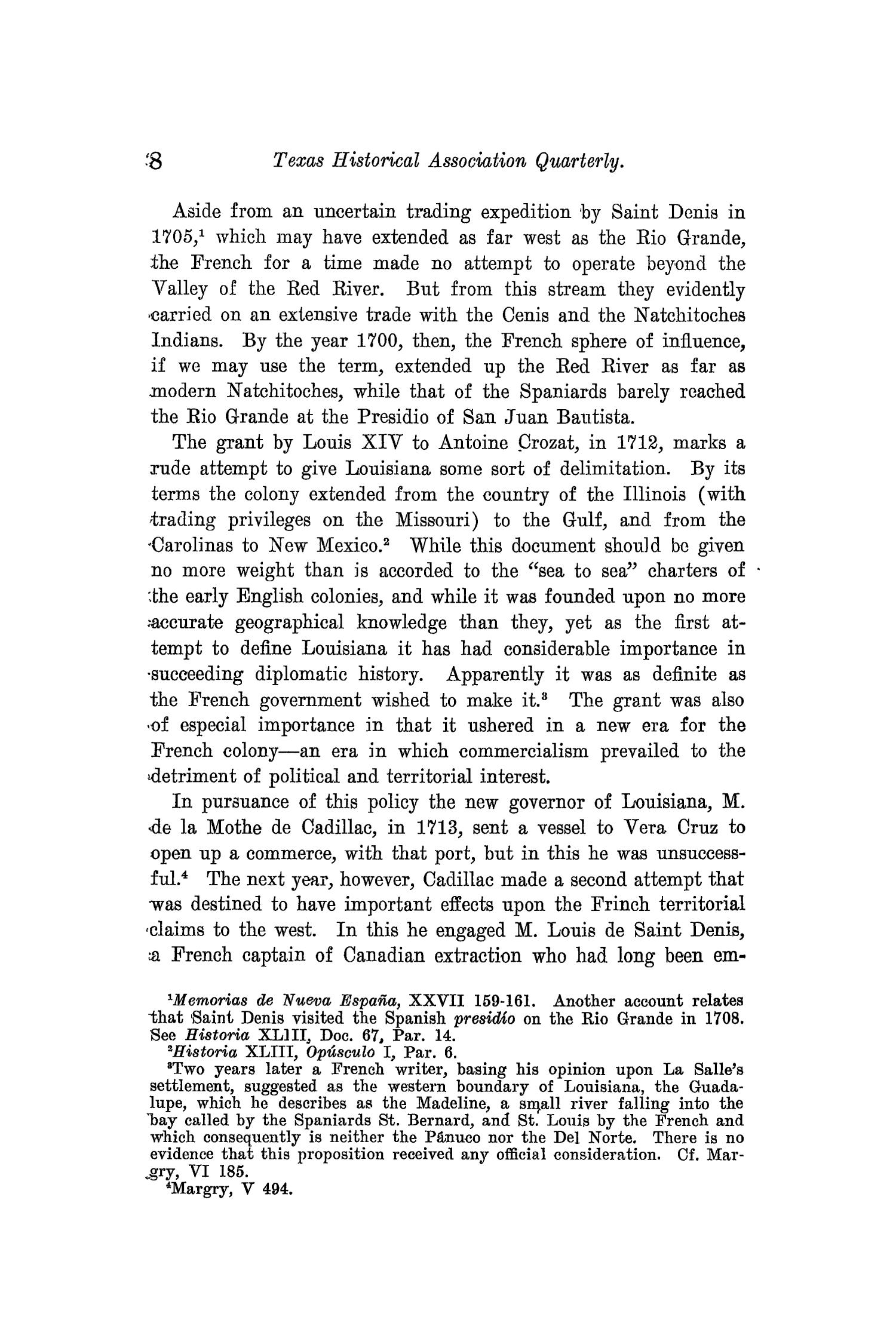 The Quarterly of the Texas State Historical Association, Volume 10, July 1906 - April, 1907                                                                                                      8